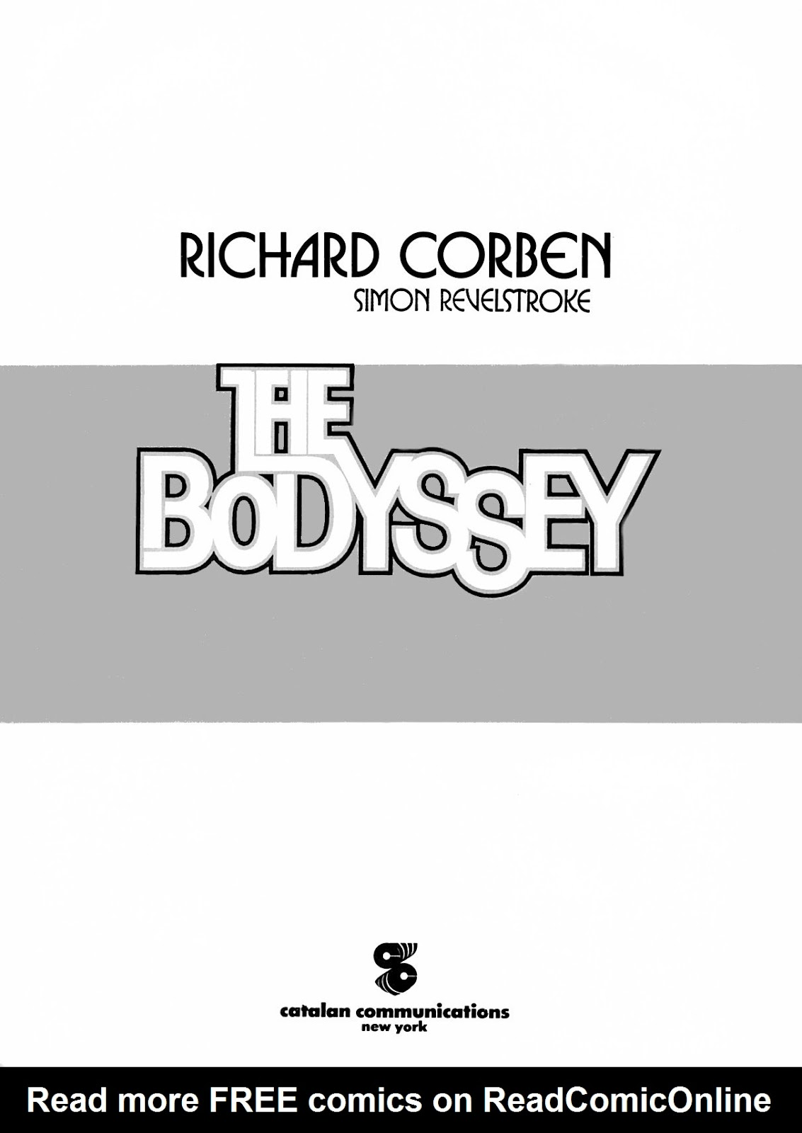 Read online The Bodyssey comic -  Issue # Full - 5