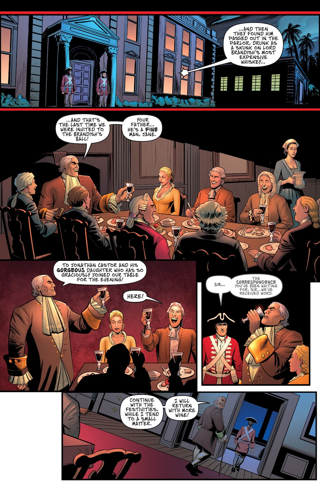 A Man Among Ye issue 4 - Page 6