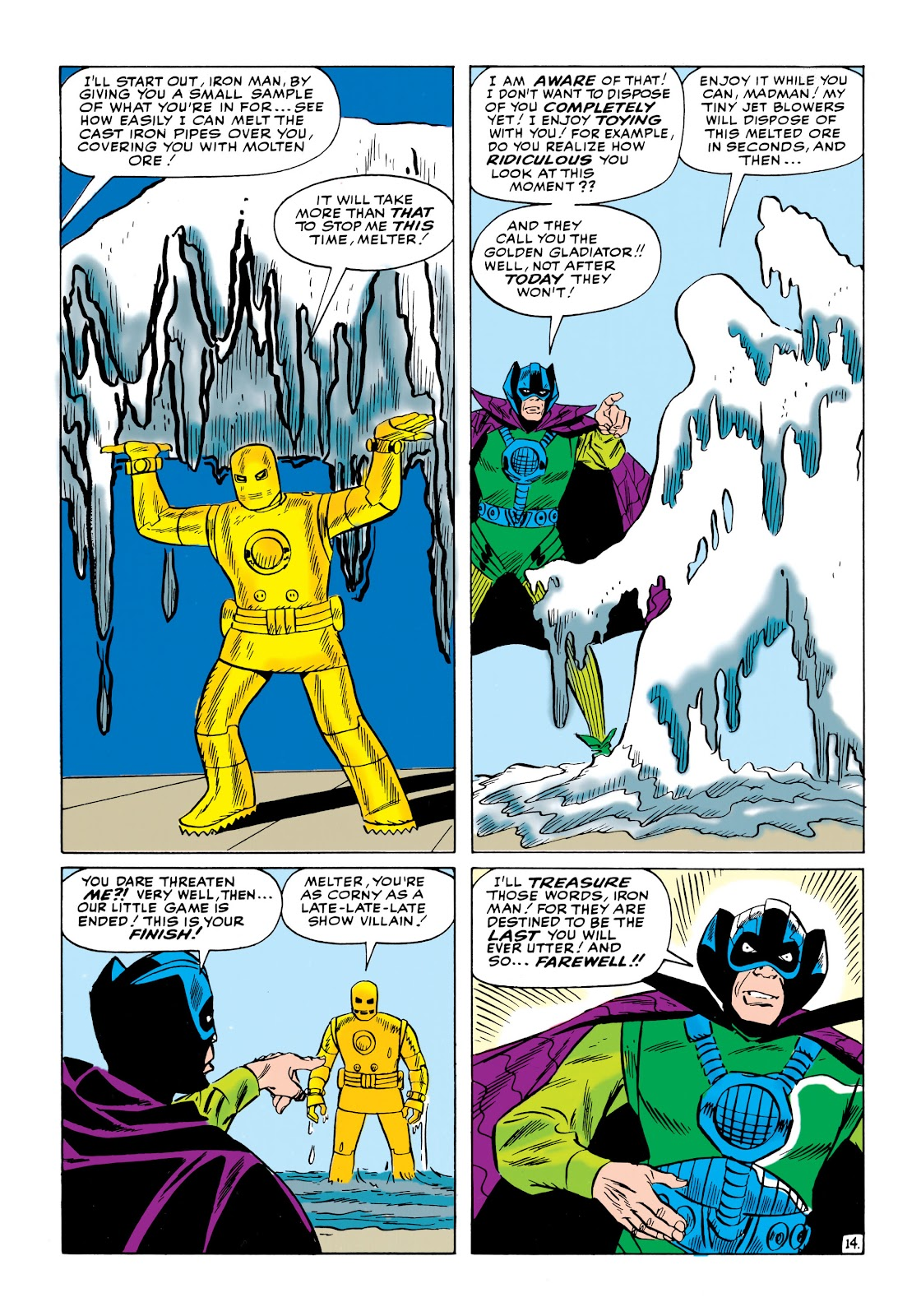 Read online Marvel Masterworks: The Invincible Iron Man comic -  Issue # TPB 1 (Part 2) - 34