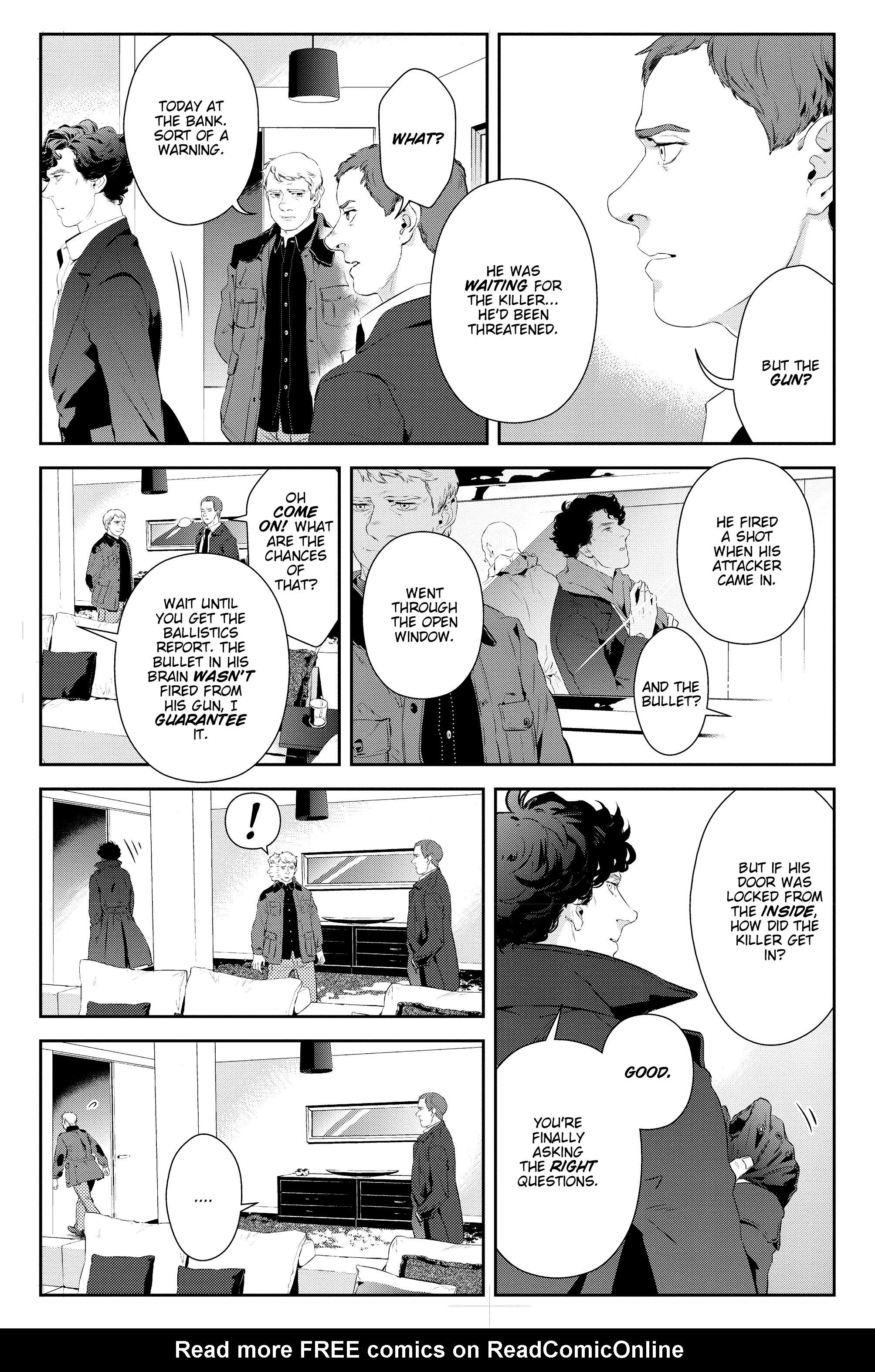 Read online Sherlock: The Blind Banker comic -  Issue #2 - 16