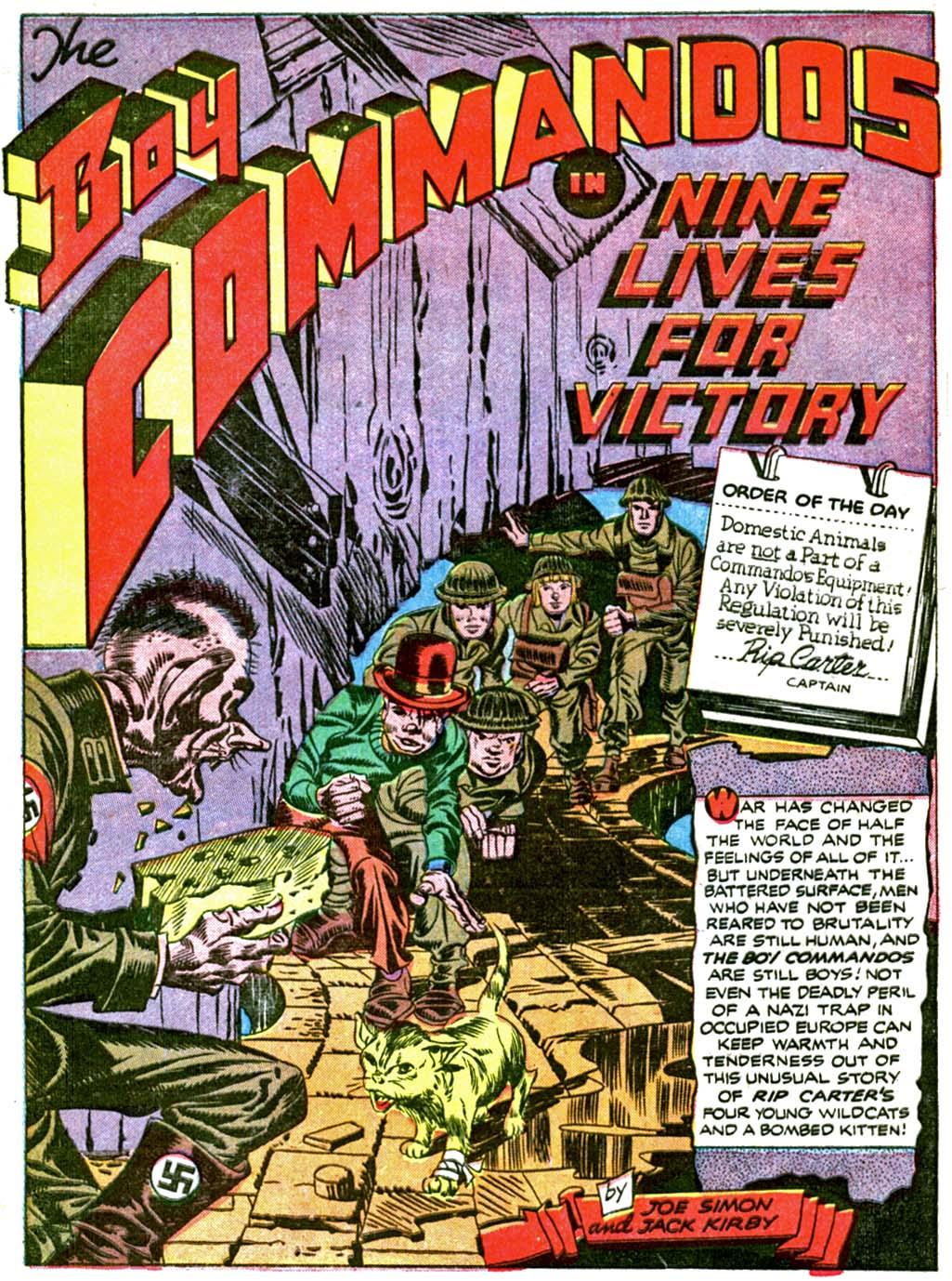 Boy Commandos issue 2 - Page 57