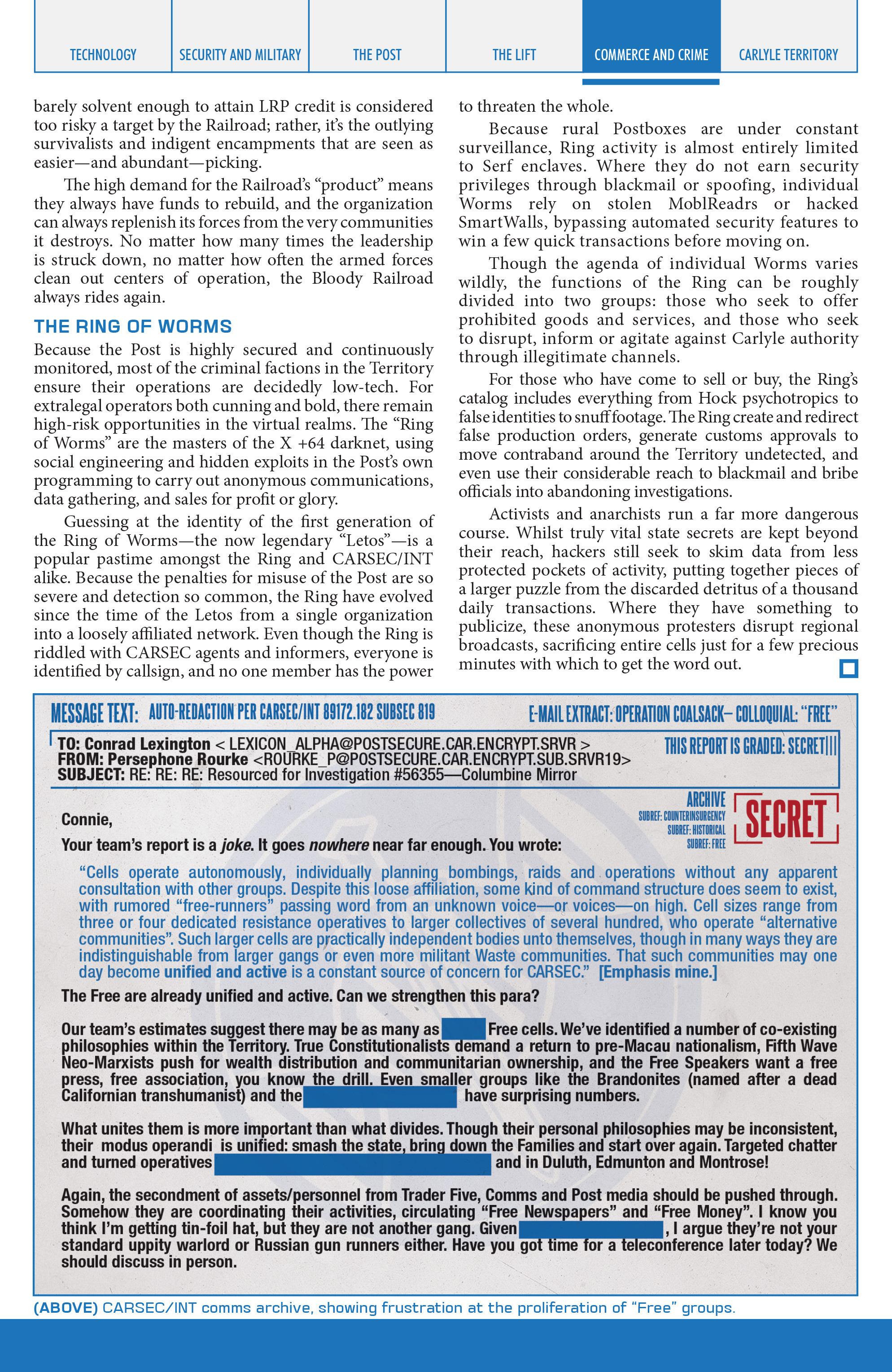 Read online Lazarus Sourcebook comic -  Issue # Vol. 1 - 15