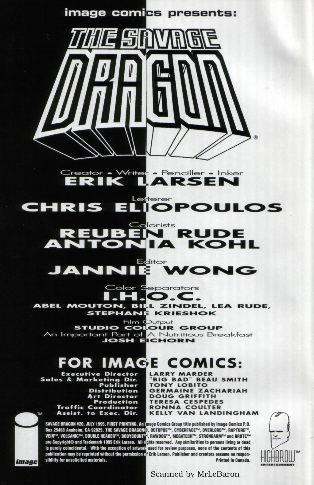 The Savage Dragon (1993) Issue #20 #23 - English 2
