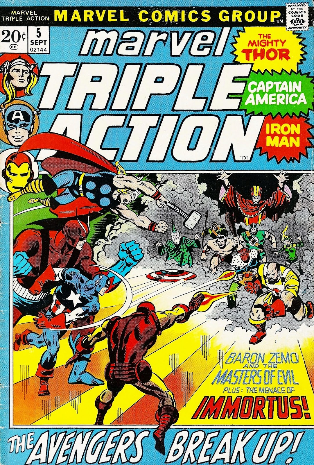 Marvel Triple Action (1972) issue 5 - Page 1