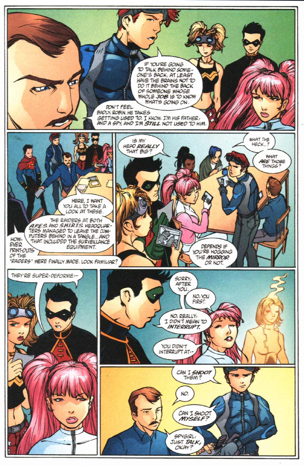 Read online SpyBoy/Young Justice comic -  Issue #2 - 18