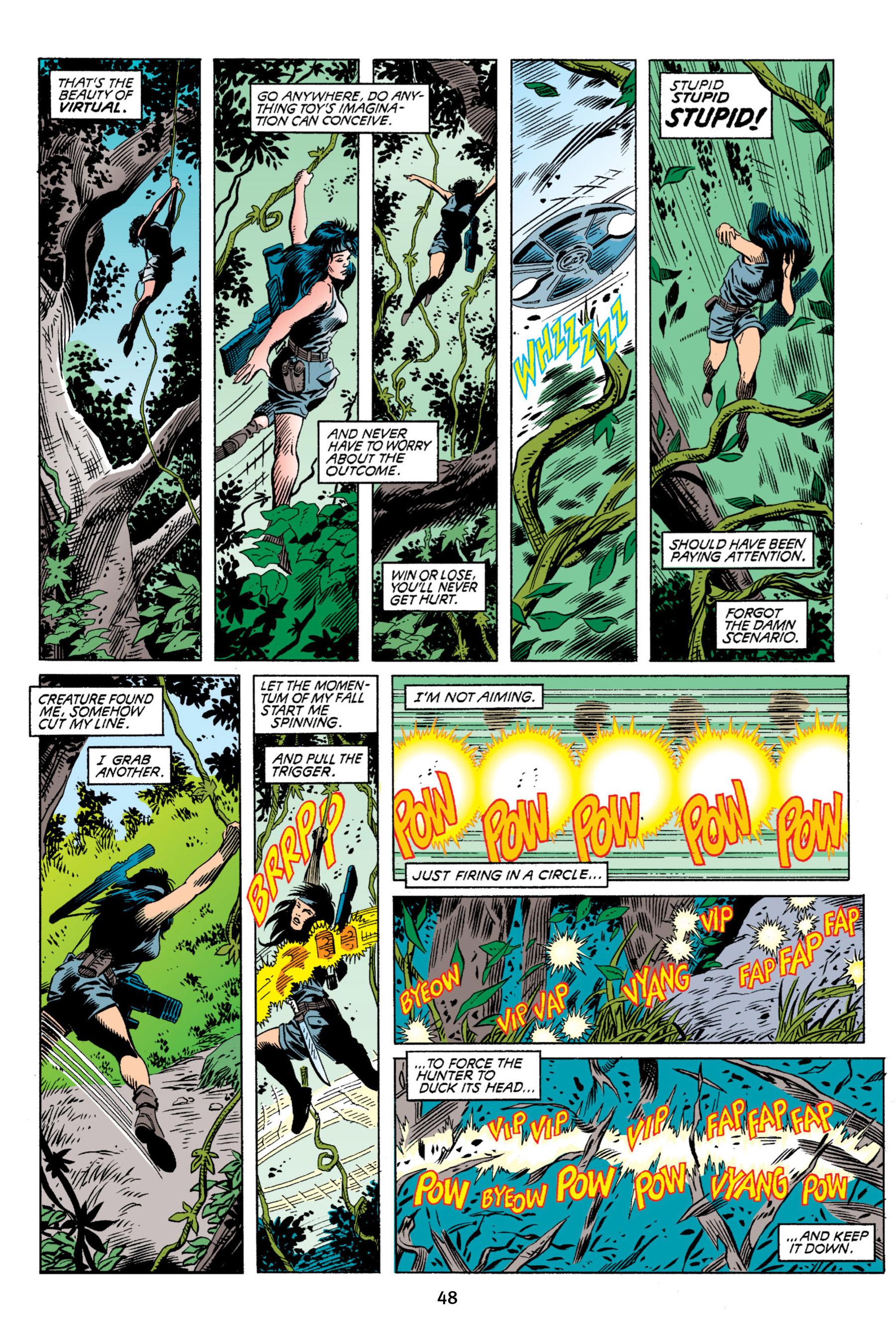 Read online Aliens vs. Predator Omnibus comic -  Issue # _TPB 2 Part 1 - 48