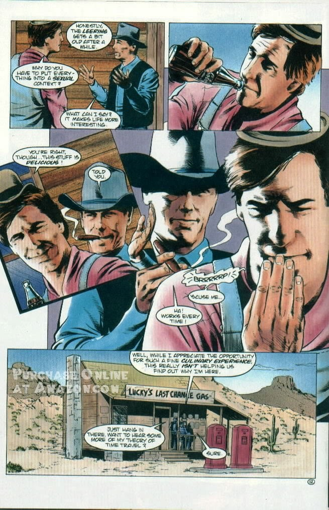 Read online Quantum Leap comic -  Issue #12 - 13
