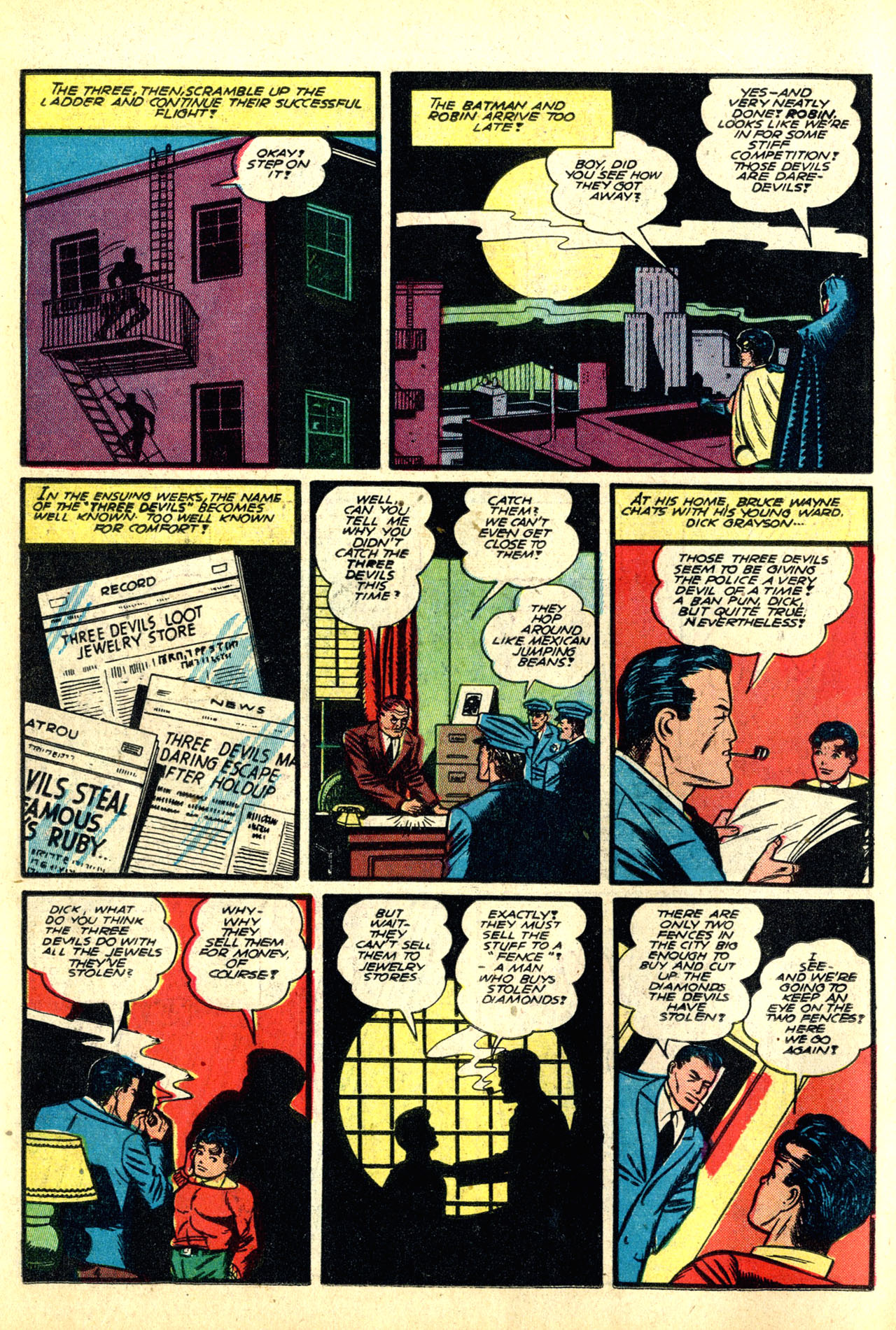 Read online Detective Comics (1937) comic -  Issue #50 - 6