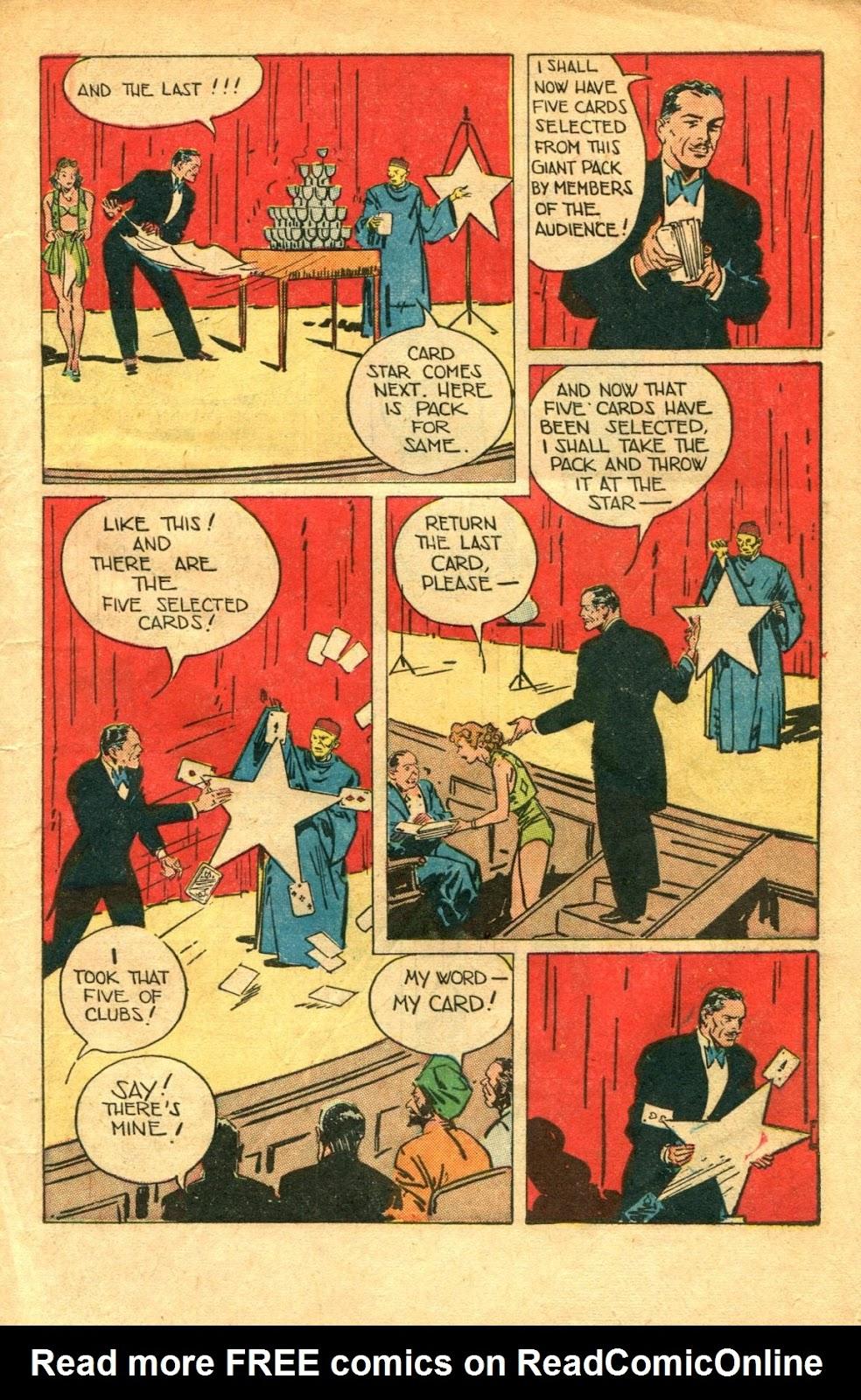 Read online Super-Magician Comics comic -  Issue #48 - 7