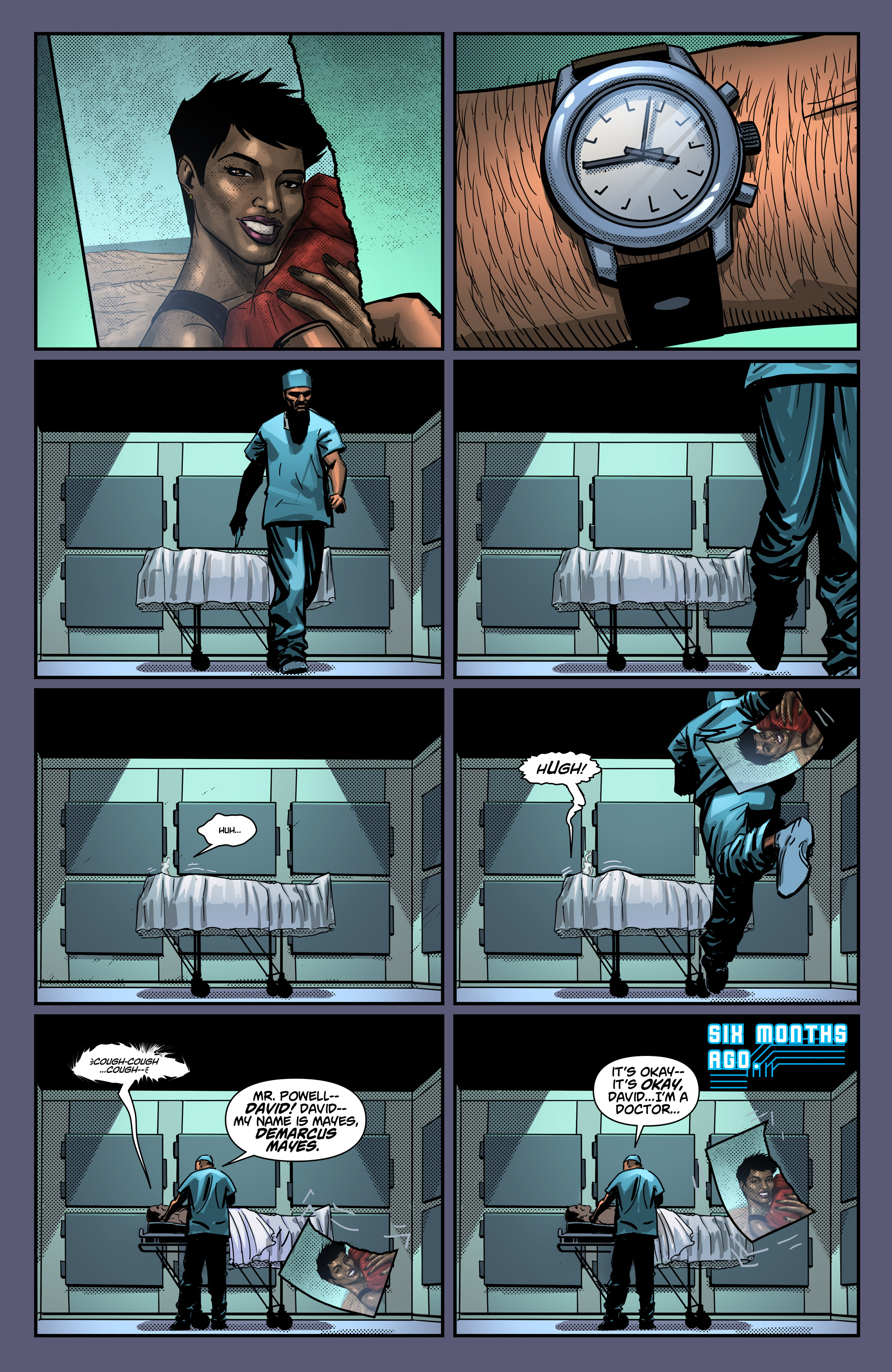 Read online Noble comic -  Issue #2 - 5