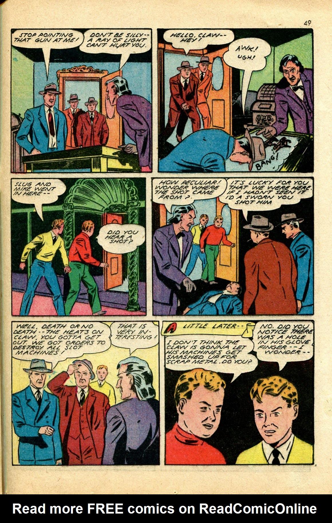 Read online Shadow Comics comic -  Issue #24 - 41