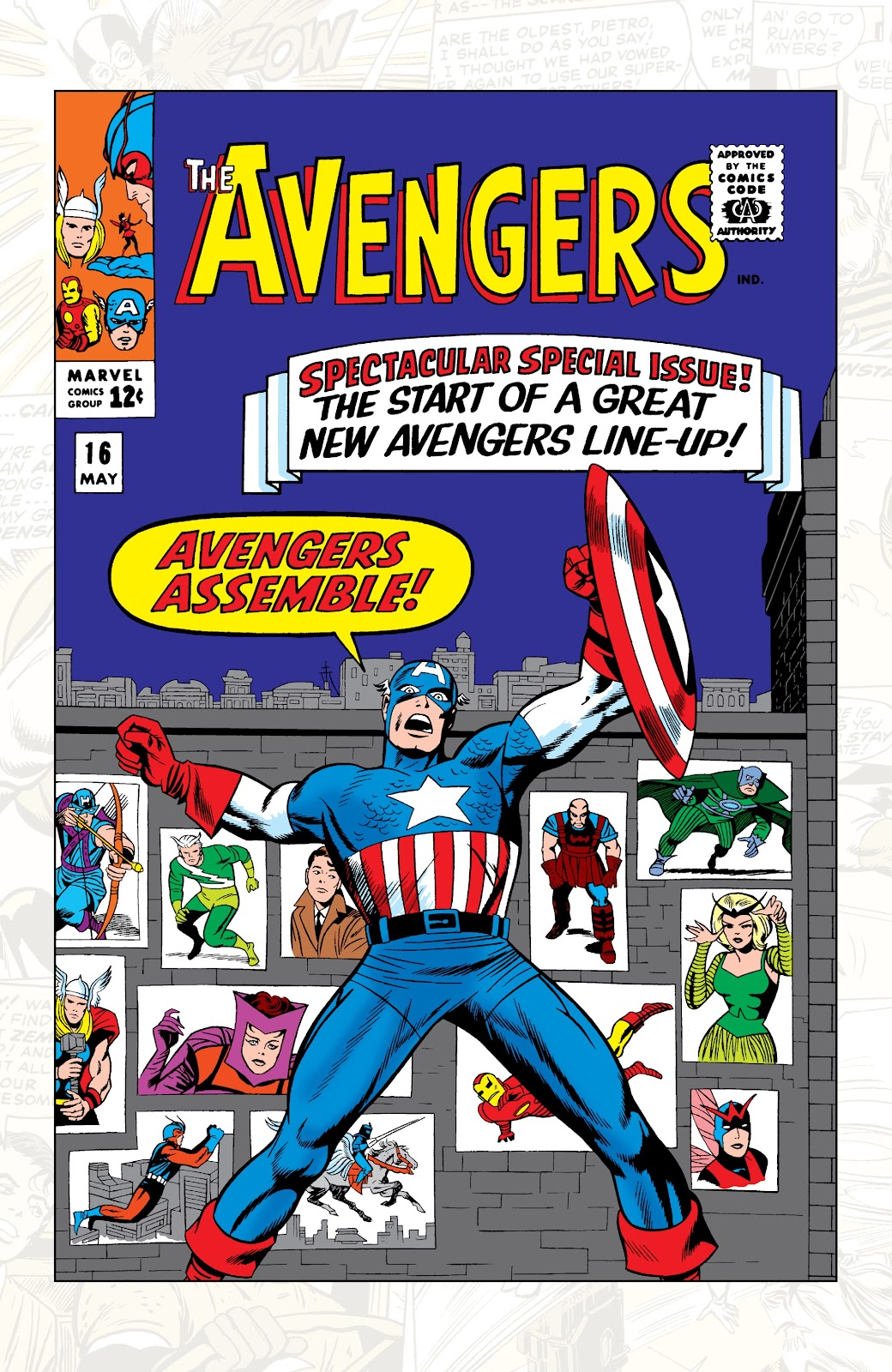 Read online Marvel Tales: Avengers comic -  Issue # Full - 5