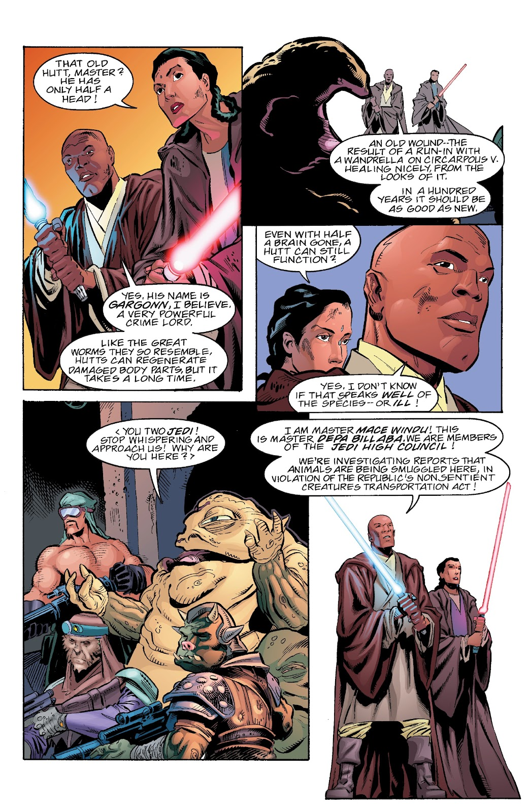 Read online Star Wars Legends Epic Collection: The Menace Revealed comic -  Issue # TPB (Part 4) - 67
