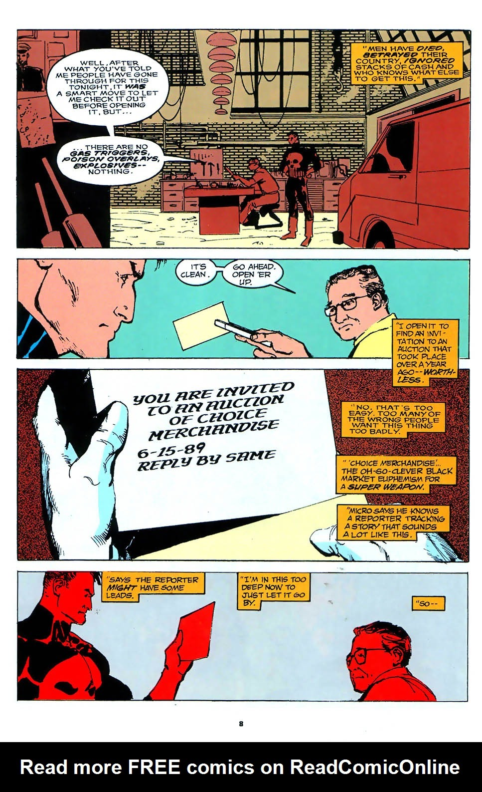 Read online Punisher: The Prize comic -  Issue # Full - 12