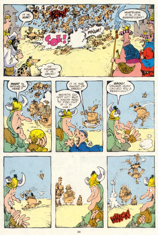 Read online Sergio Aragonés Groo the Wanderer comic -  Issue #85 - 18