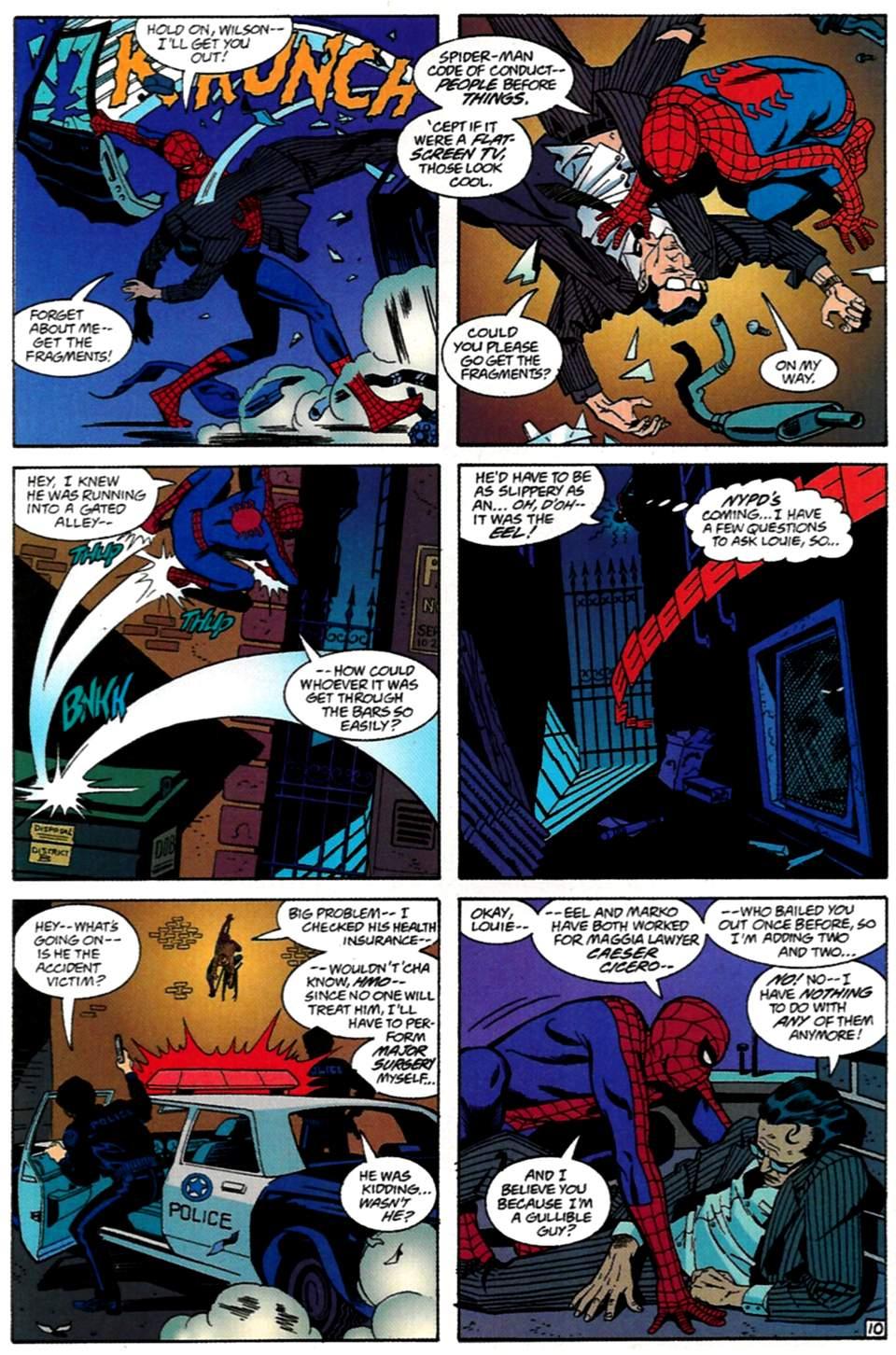 Read online Spider-Man: Lifeline comic -  Issue #1 - 11