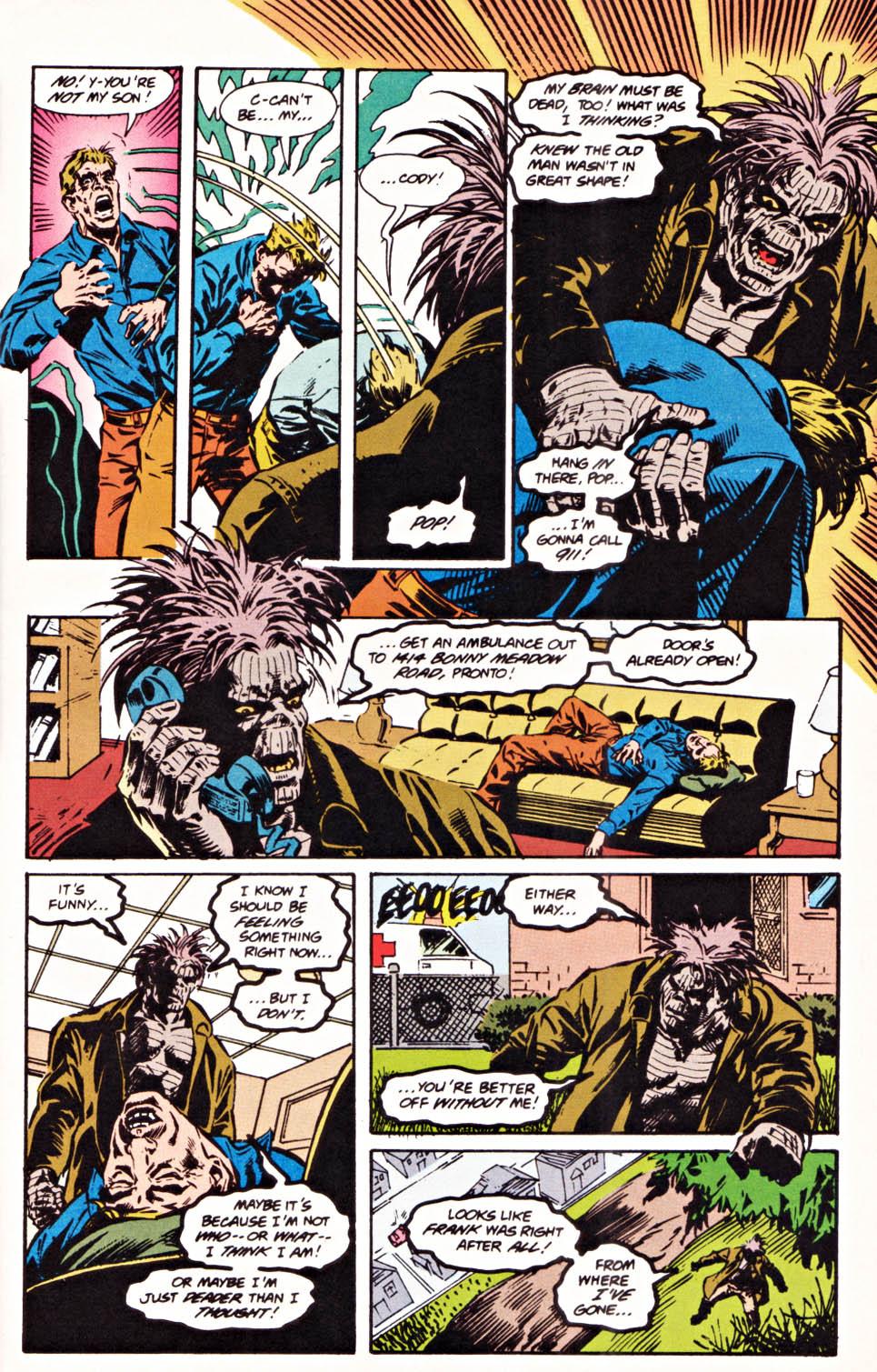 Read online Secret Defenders comic -  Issue #20 - 21