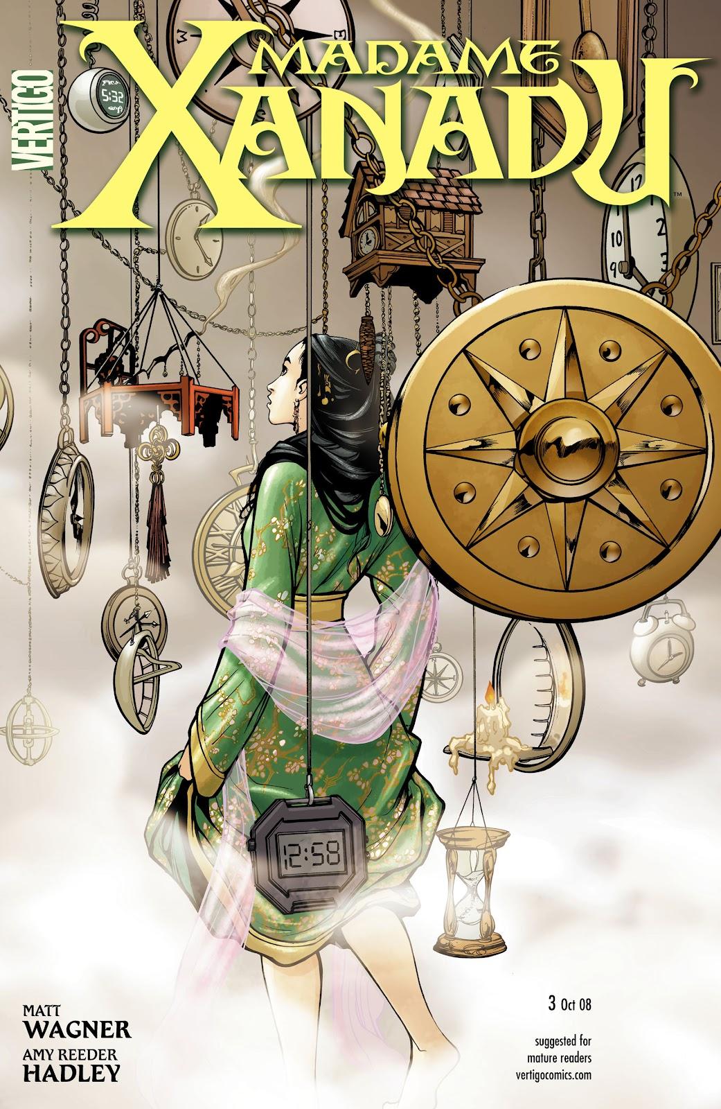 Madame Xanadu issue 3 - Page 1