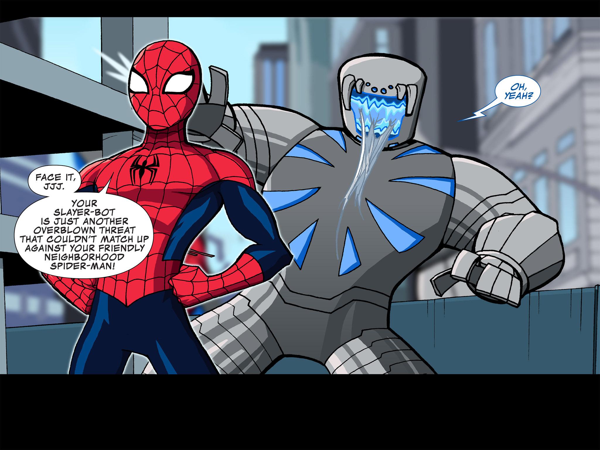 Read online Ultimate Spider-Man (Infinite Comics) (2015) comic -  Issue #4 - 13