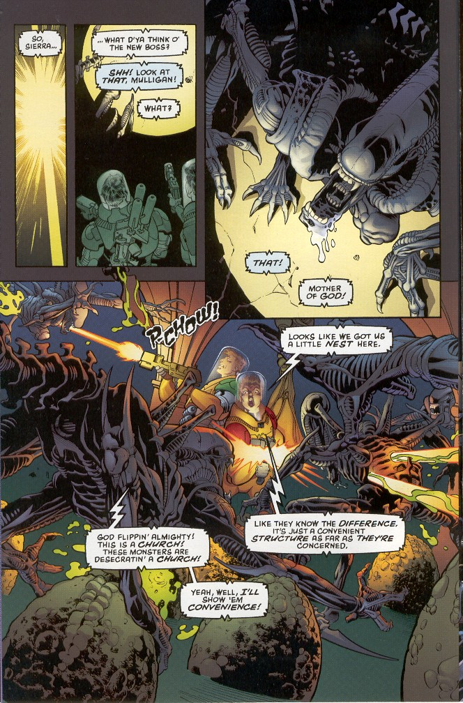 Read online Aliens: Xenogenesis comic -  Issue #1 - 12