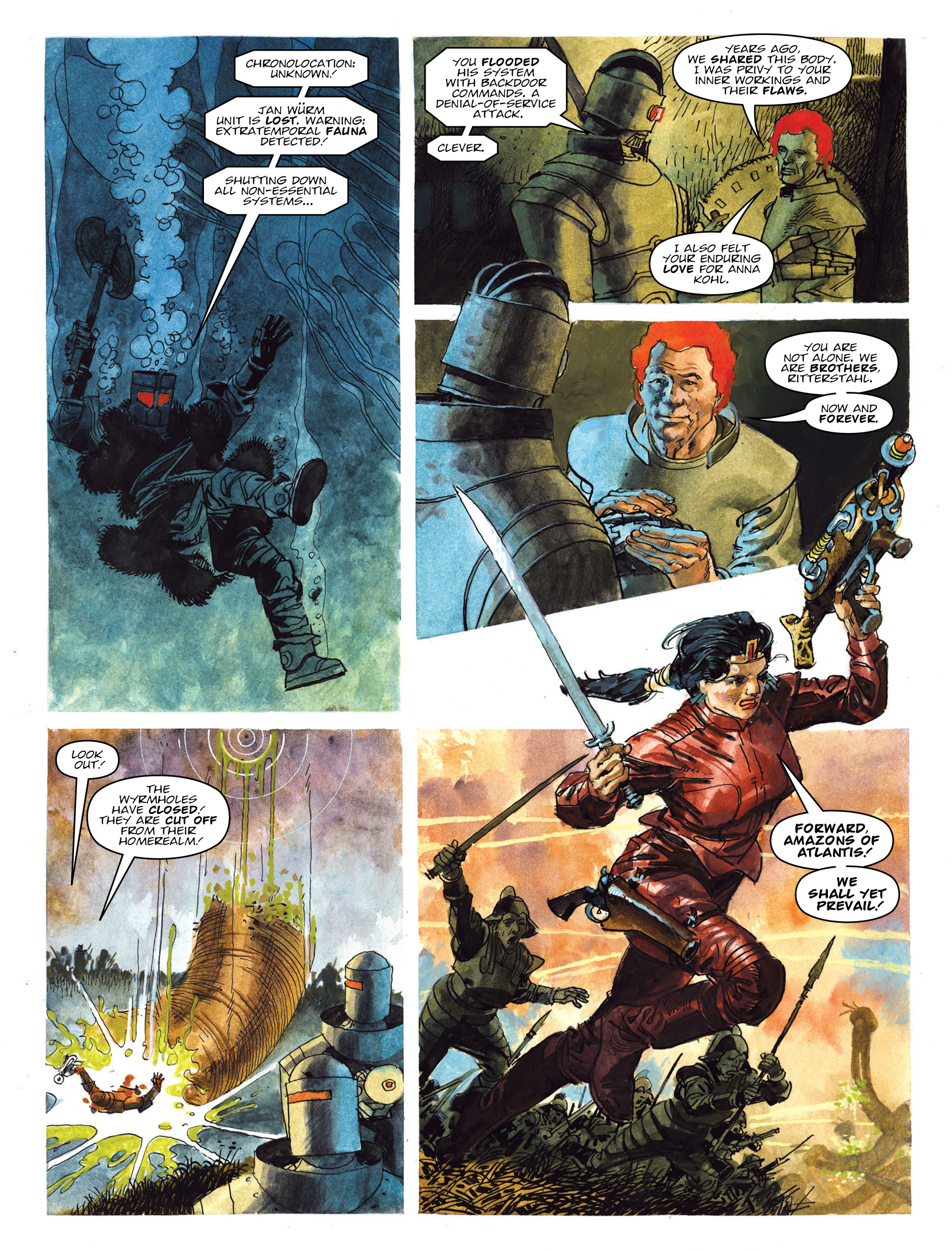 Read online 2000 AD comic -  Issue #2019 - 24
