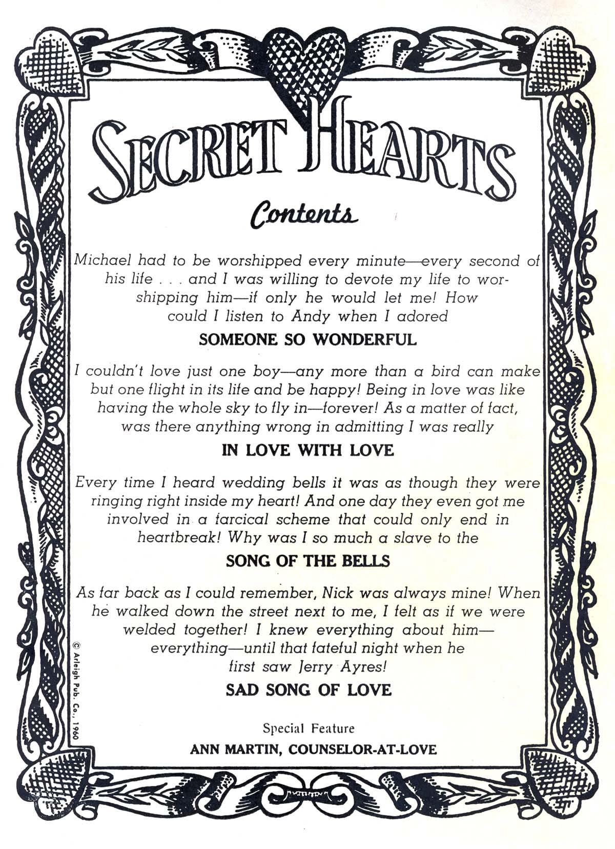 Read online Secret Hearts comic -  Issue #66 - 2