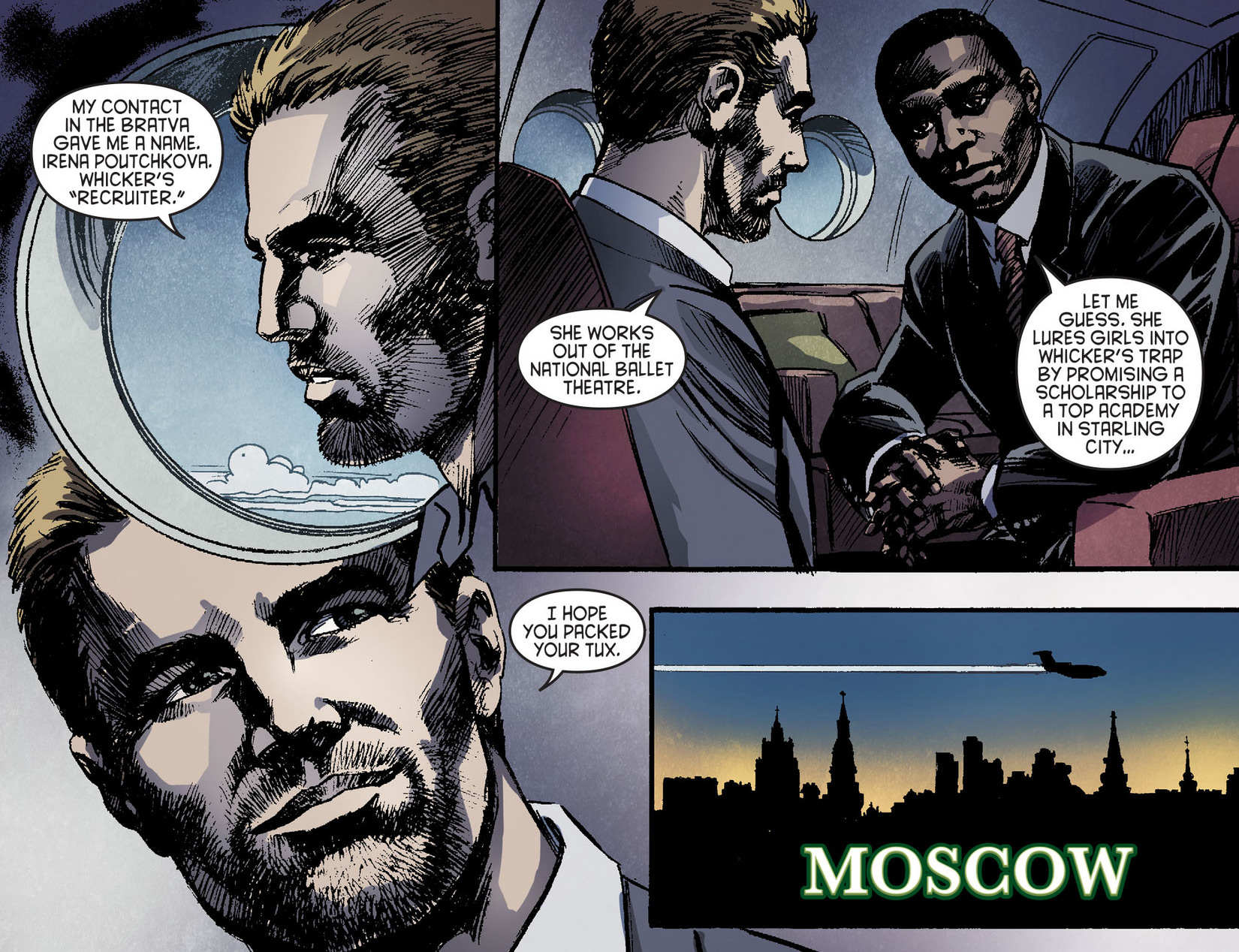 Read online Arrow [II] comic -  Issue #6 - 5