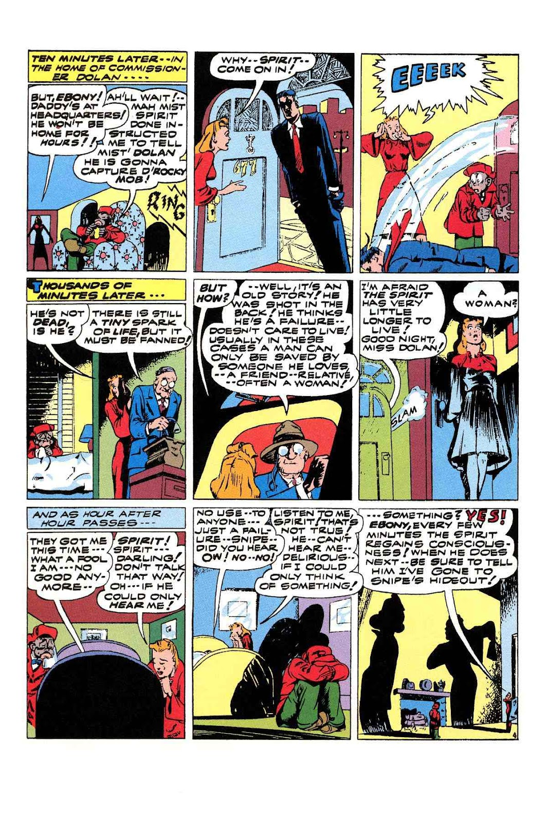 Read online Will Eisner's The Spirit Archives comic -  Issue # TPB 3 (Part 2) - 1