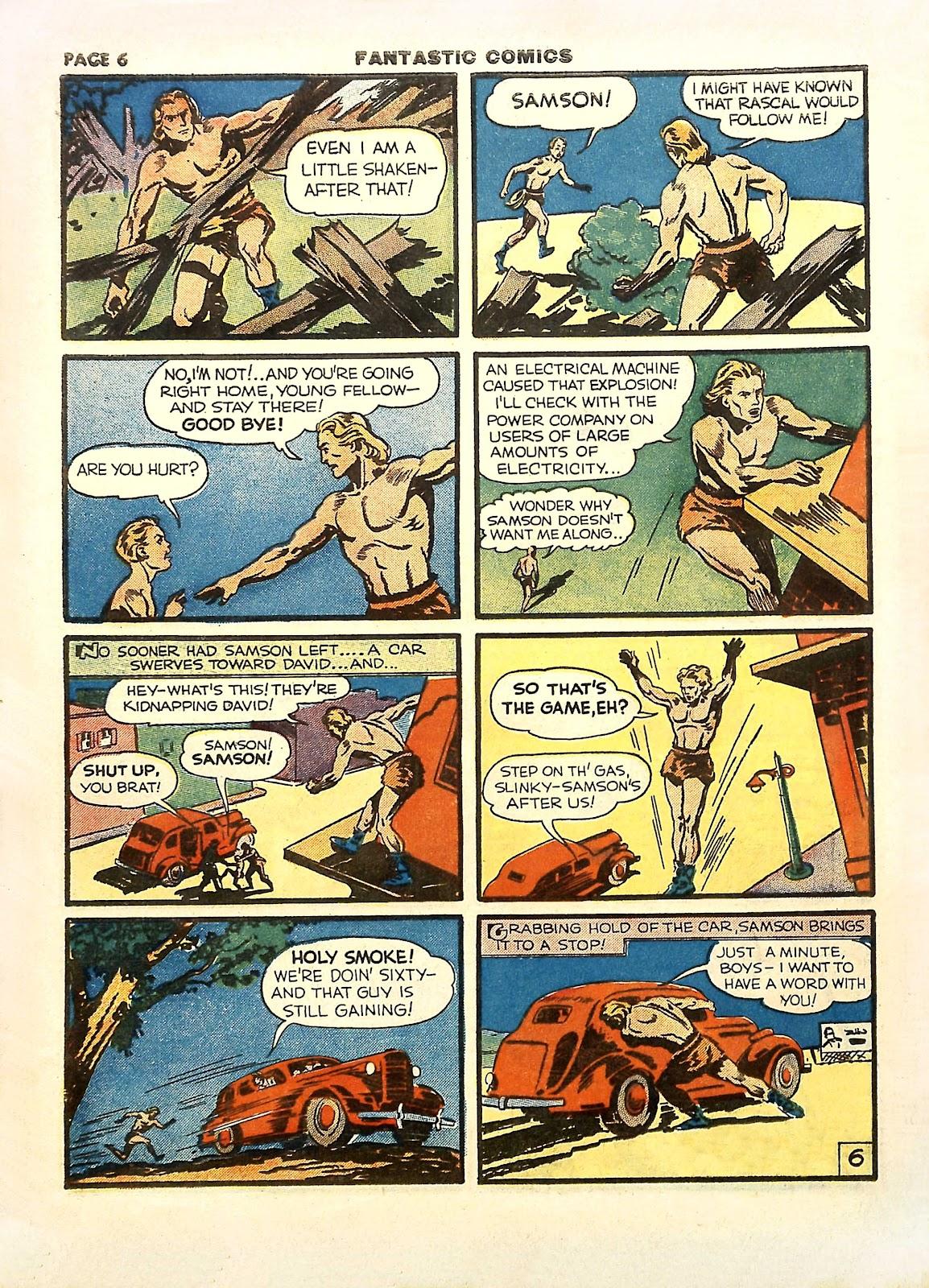 Read online Fantastic Comics comic -  Issue #11 - 9