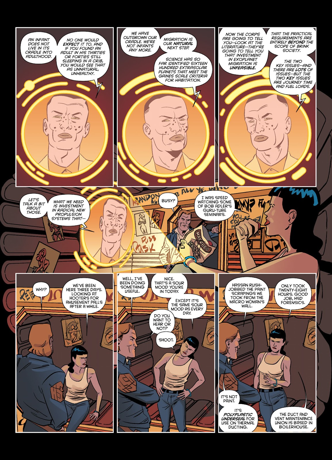 Read online Brink comic -  Issue # TPB 1 - 31