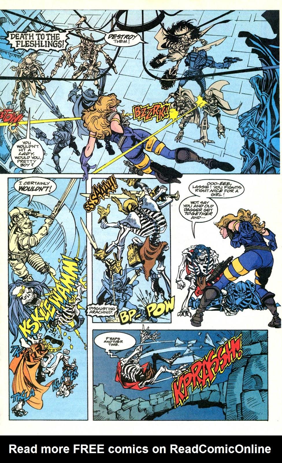 Skeleton Warriors Issue #2 #2 - English 18