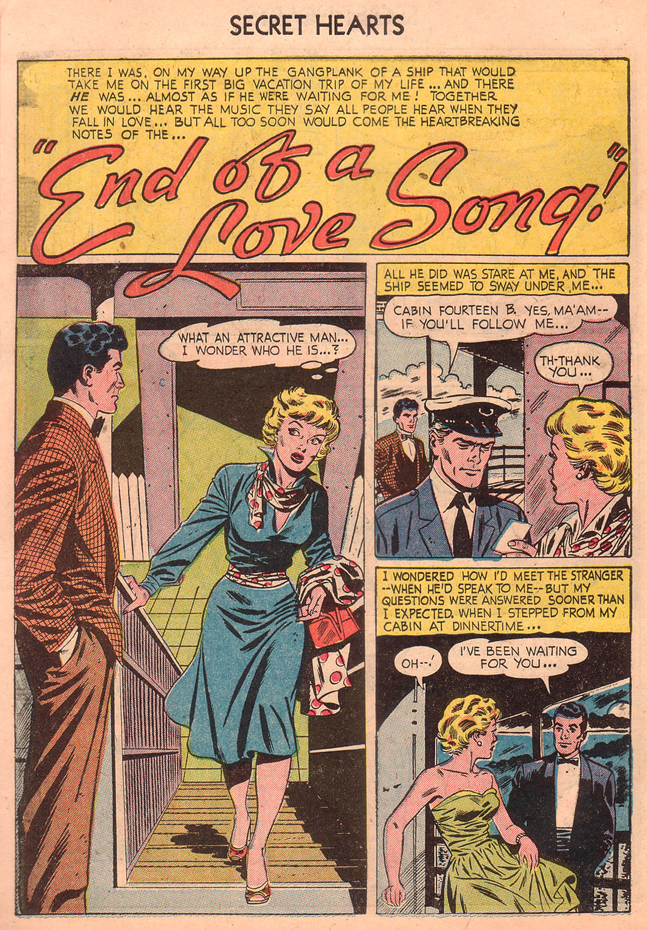 Read online Secret Hearts comic -  Issue #23 - 10