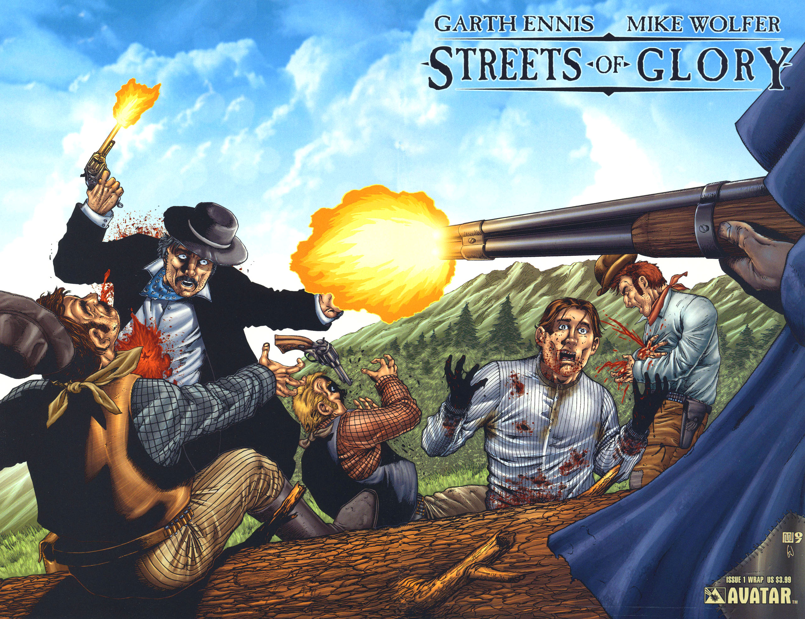 Read online Garth Ennis' Streets of Glory comic -  Issue #1 - 2