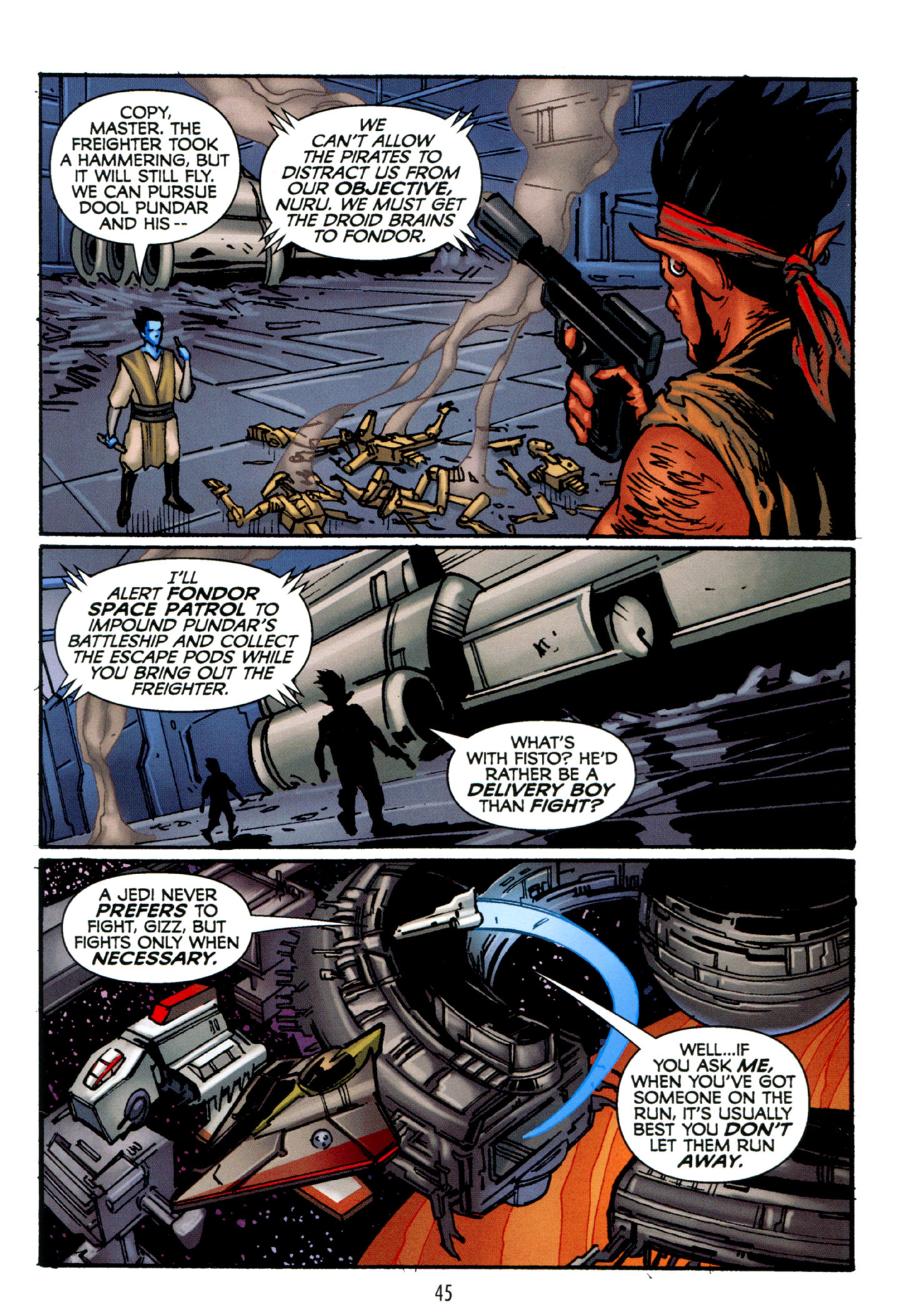 Read online Star Wars: The Clone Wars - Strange Allies comic -  Issue # Full - 46