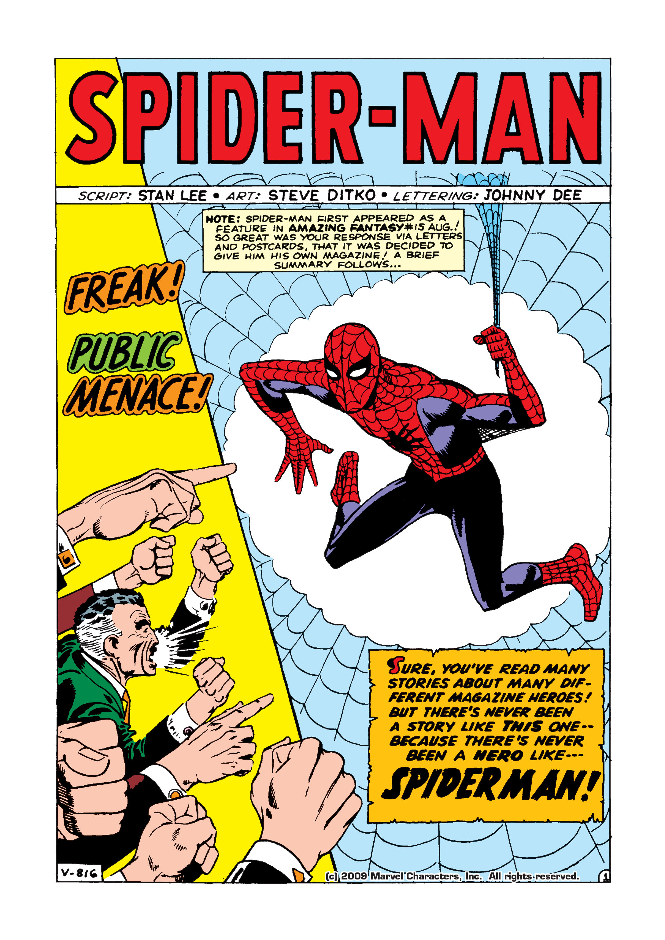 The Amazing Spider-Man (1963) 1 Page 1