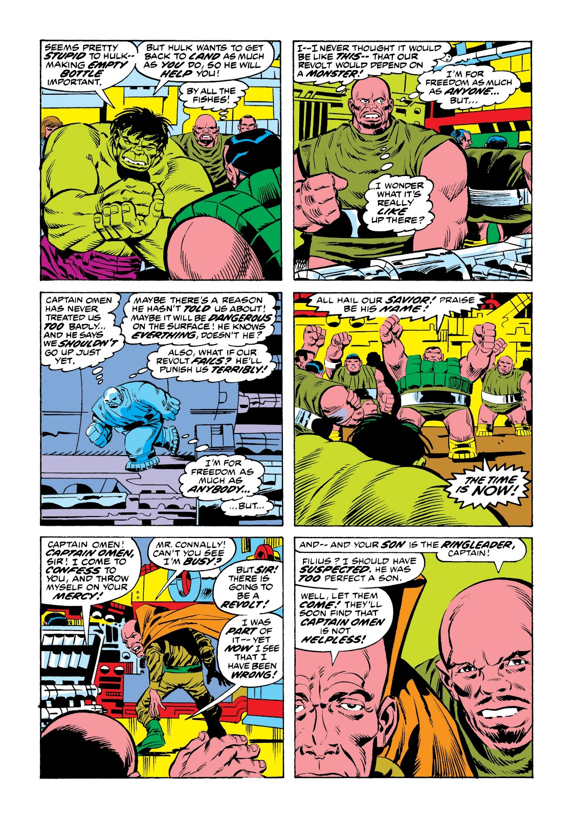 Read online Marvel Masterworks: The Incredible Hulk comic -  Issue # TPB 9 (Part 2) - 85