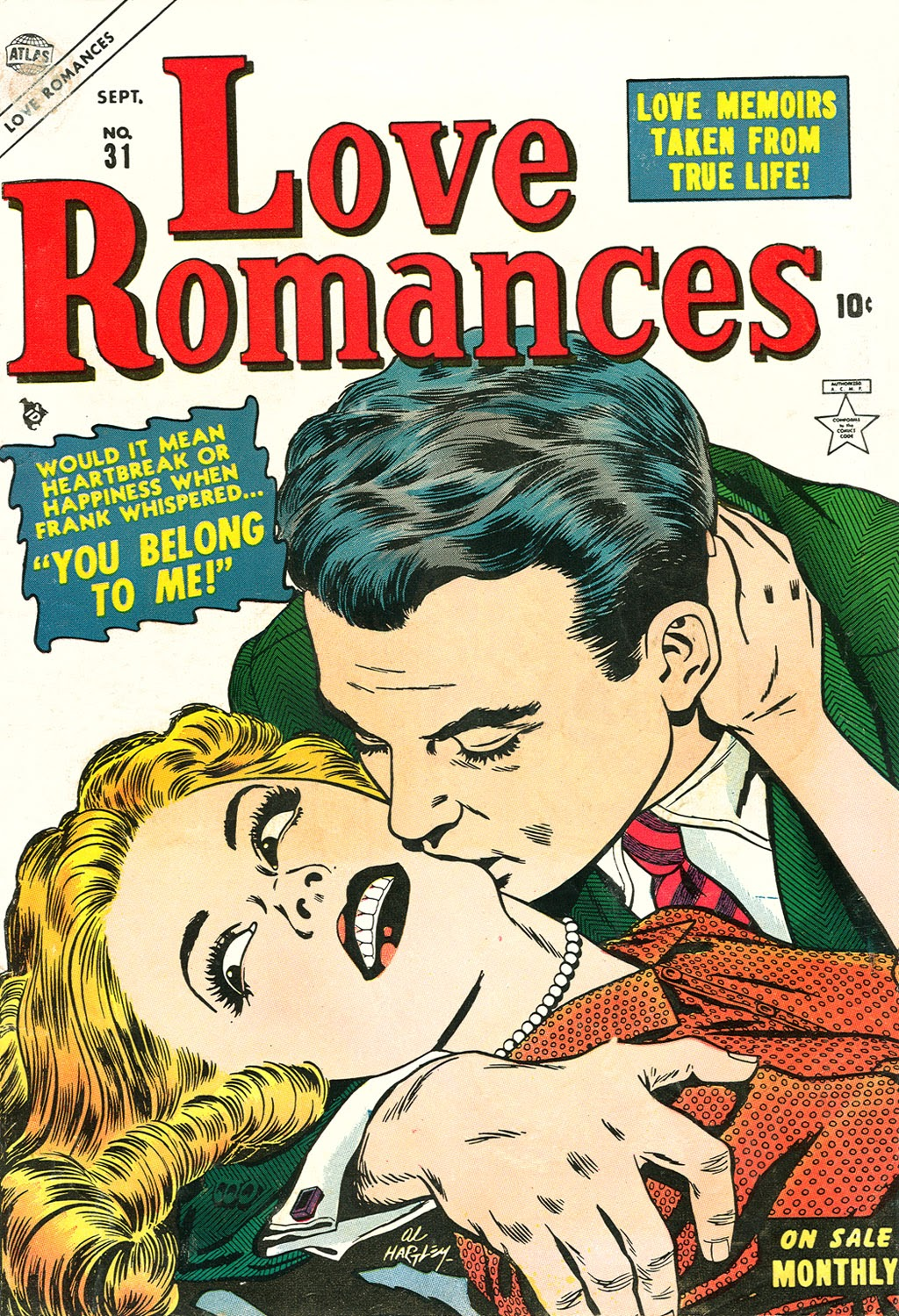 Love Romances (1949) issue 31 - Page 1