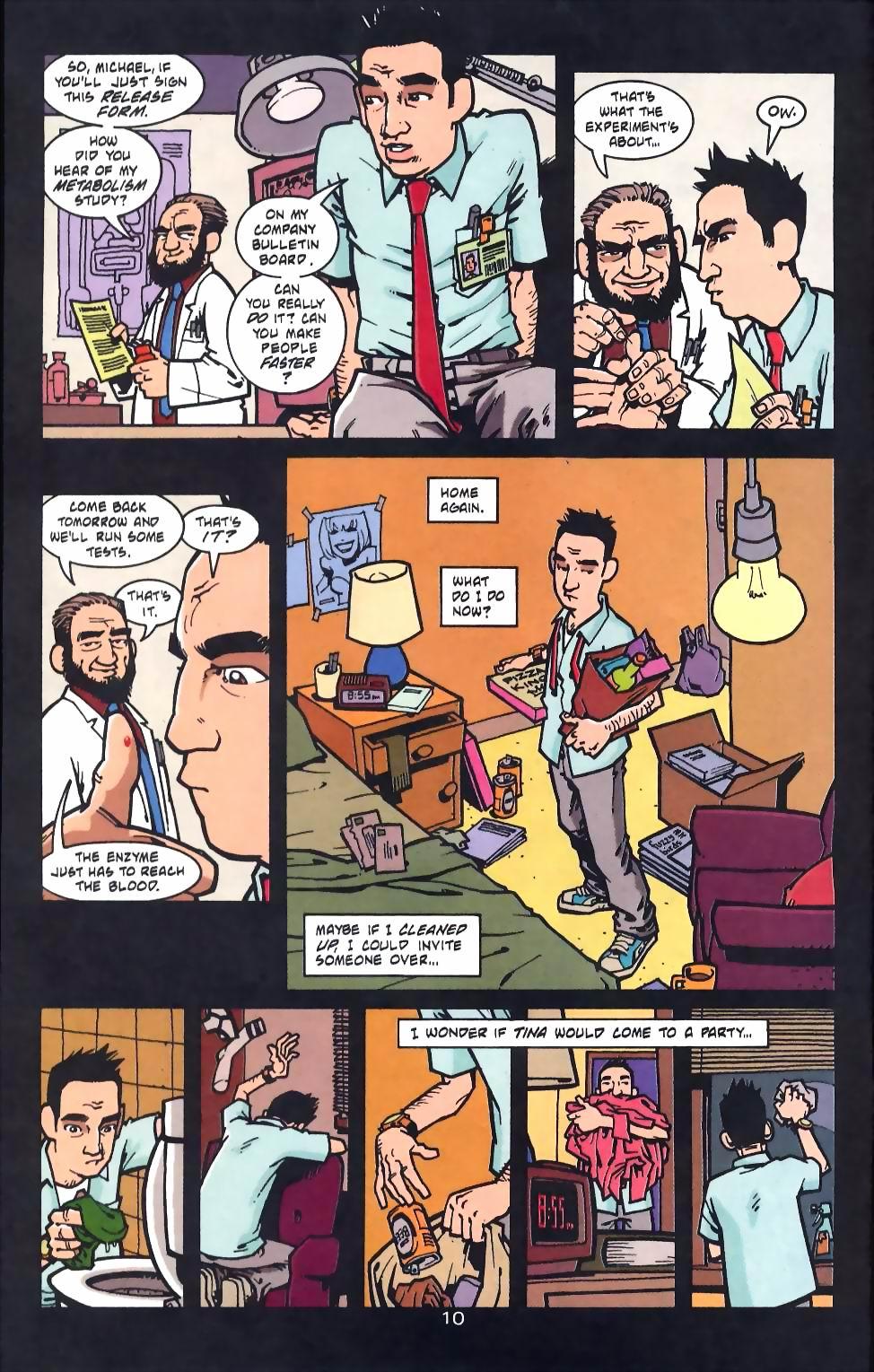 Read online Flinch comic -  Issue #16 - 11