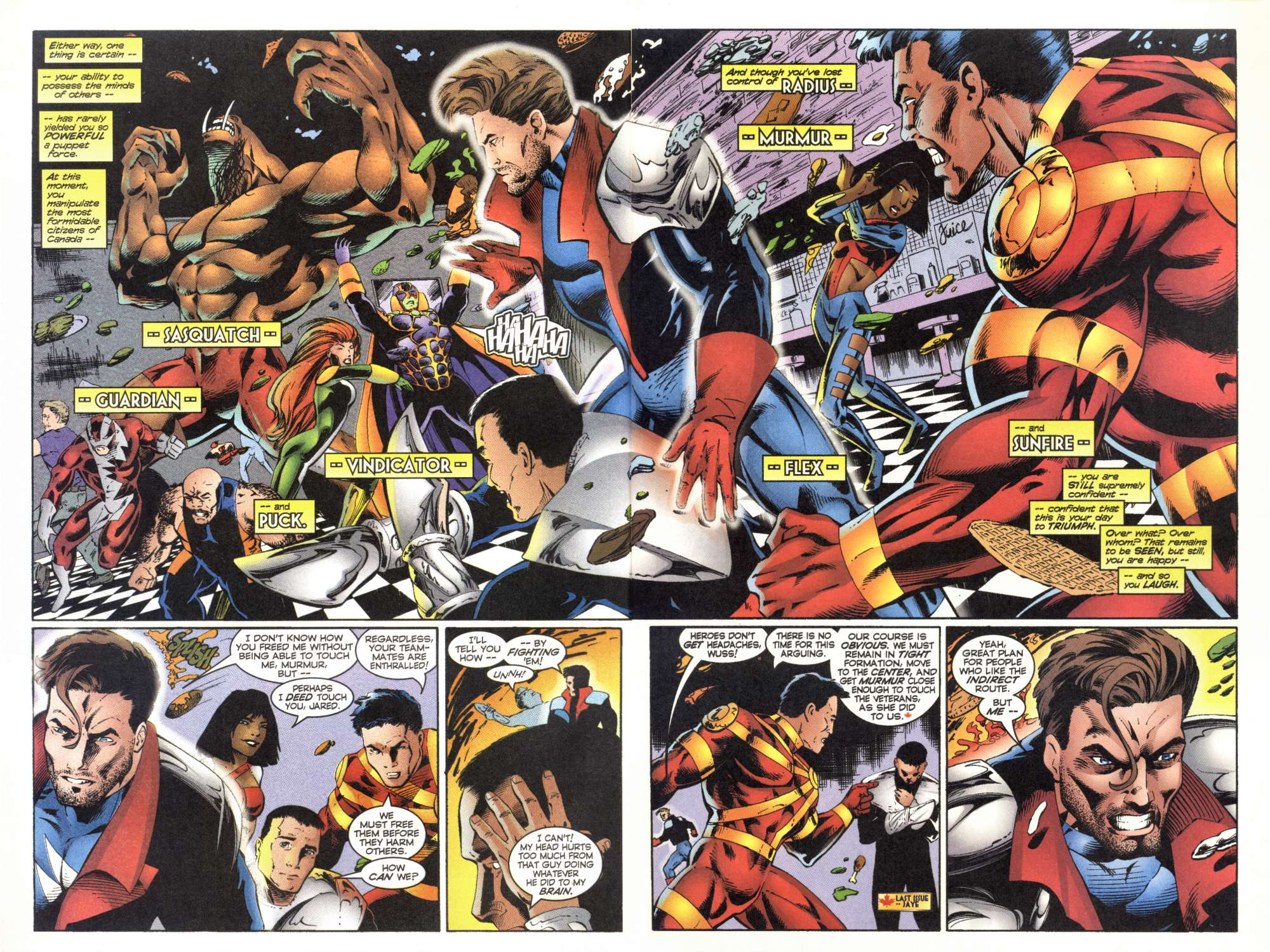 Read online Alpha Flight (1997) comic -  Issue #5 - 4