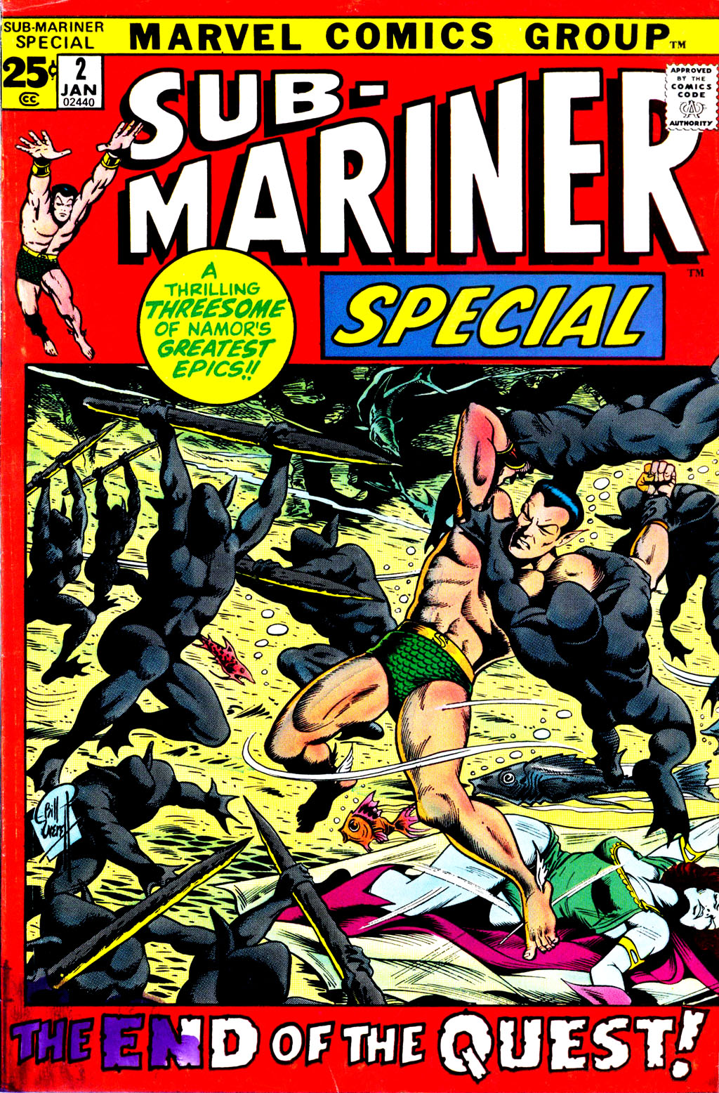 The Sub-Mariner _Special_2 Page 1