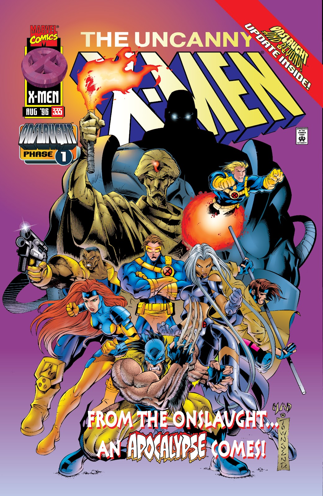 Uncanny X-Men (1963) issue 335 - Page 1