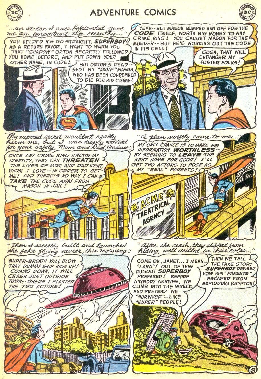 Read online Adventure Comics (1938) comic -  Issue #218 - 10