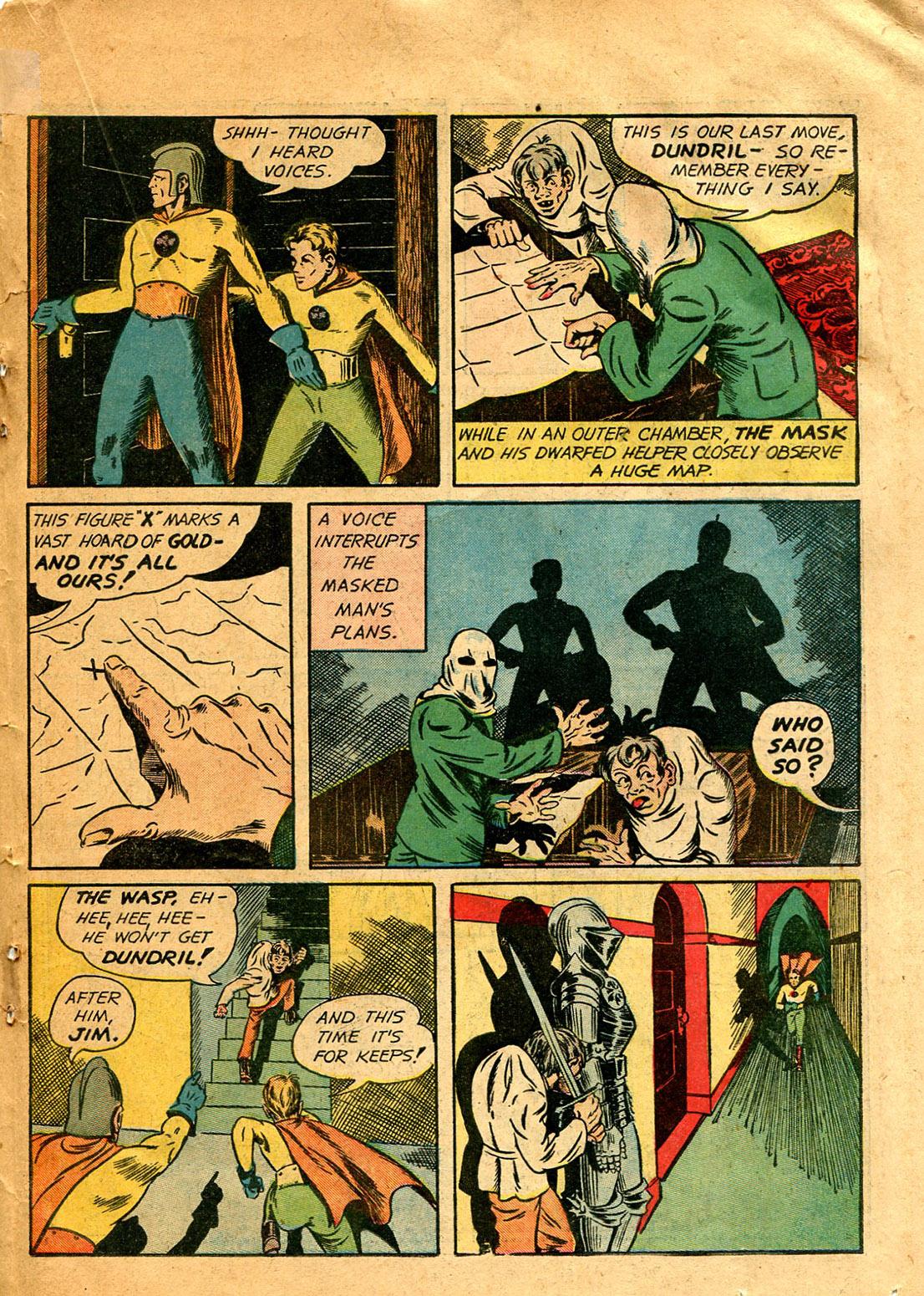Read online Shadow Comics comic -  Issue #9 - 43