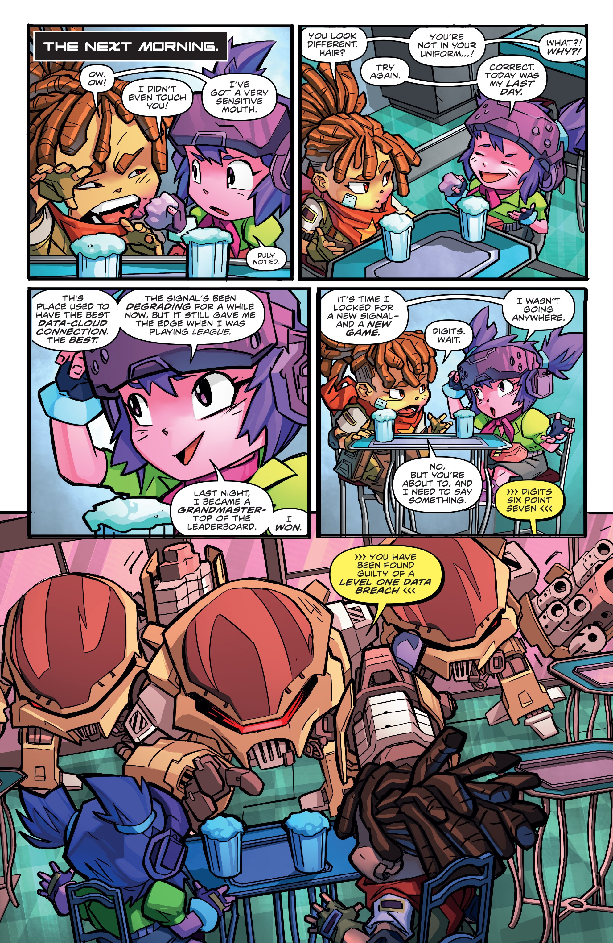 Read online Starcadia Quest comic -  Issue #1 - 18