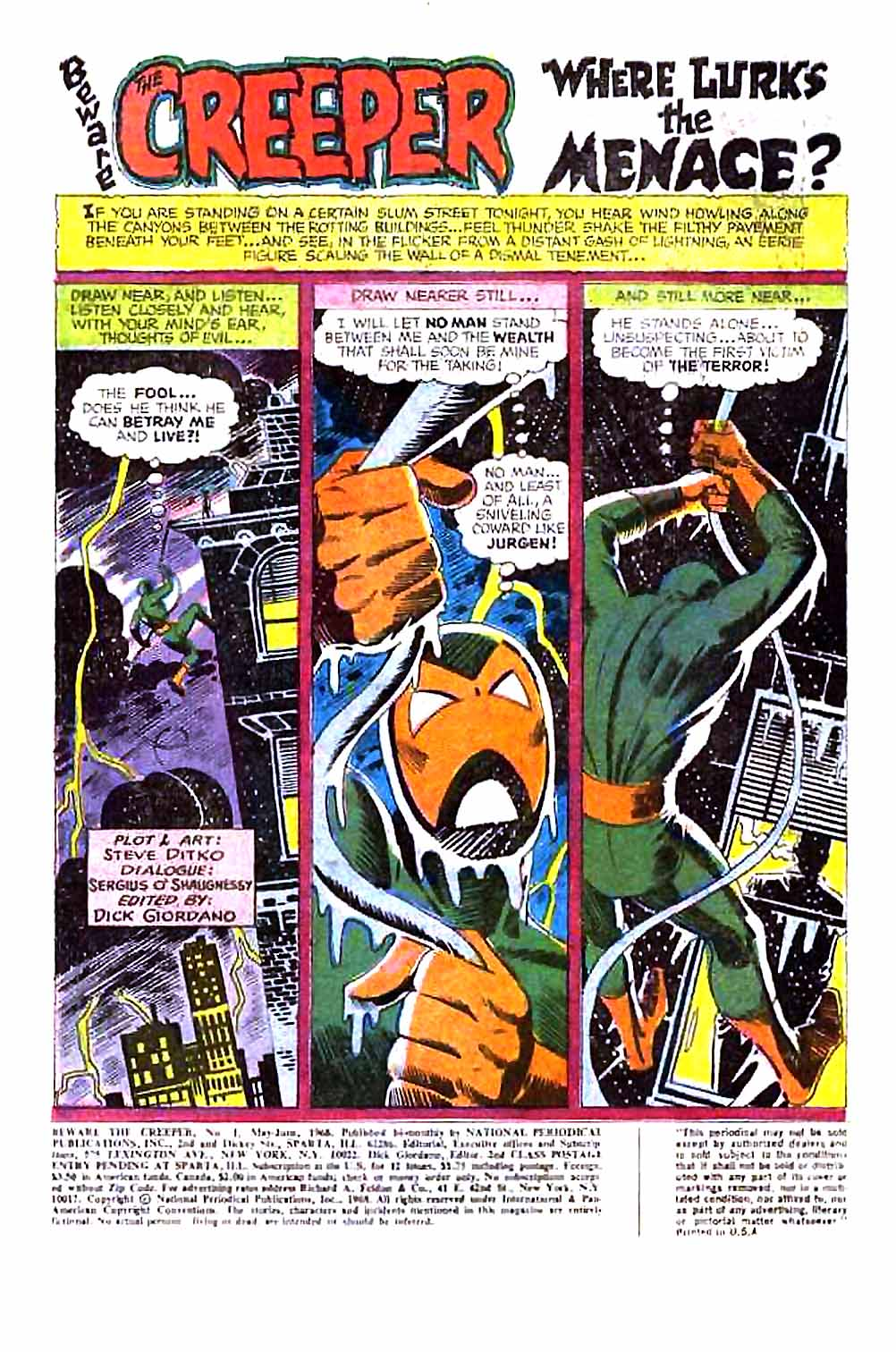 Beware The Creeper (1968) issue 1 - Page 3
