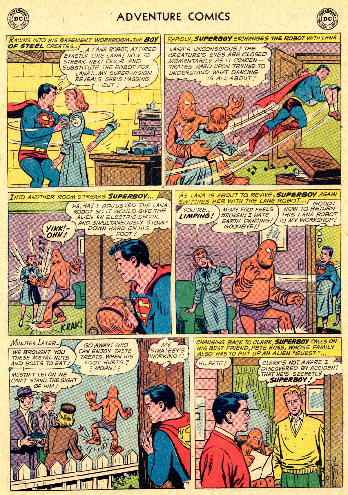 Read online Adventure Comics (1938) comic -  Issue #294 - 9
