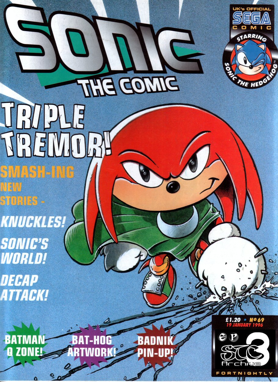 Read online Sonic the Comic comic -  Issue #69 - 1