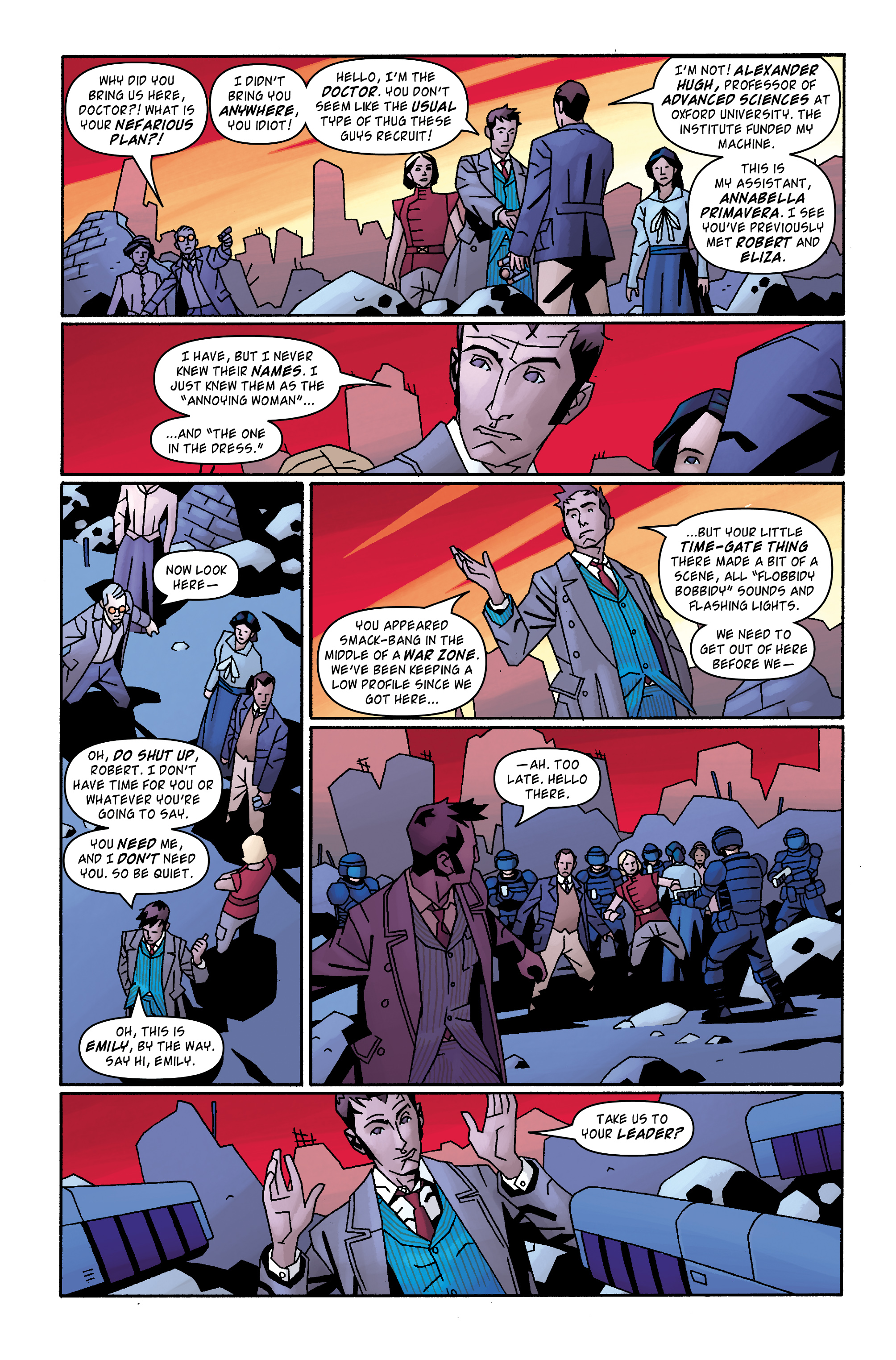 Read online Doctor Who: The Tenth Doctor Archives comic -  Issue #31 - 11
