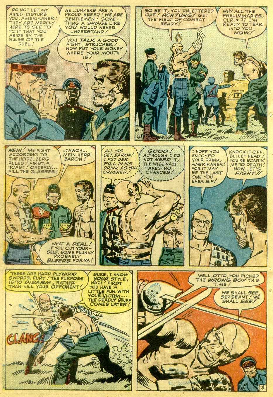 Read online Sgt. Fury comic -  Issue # _Annual 1 - 60
