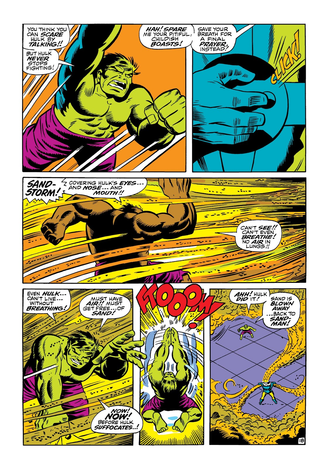 Read online Marvel Masterworks: The Incredible Hulk comic -  Issue # TPB 5 (Part 1) - 66